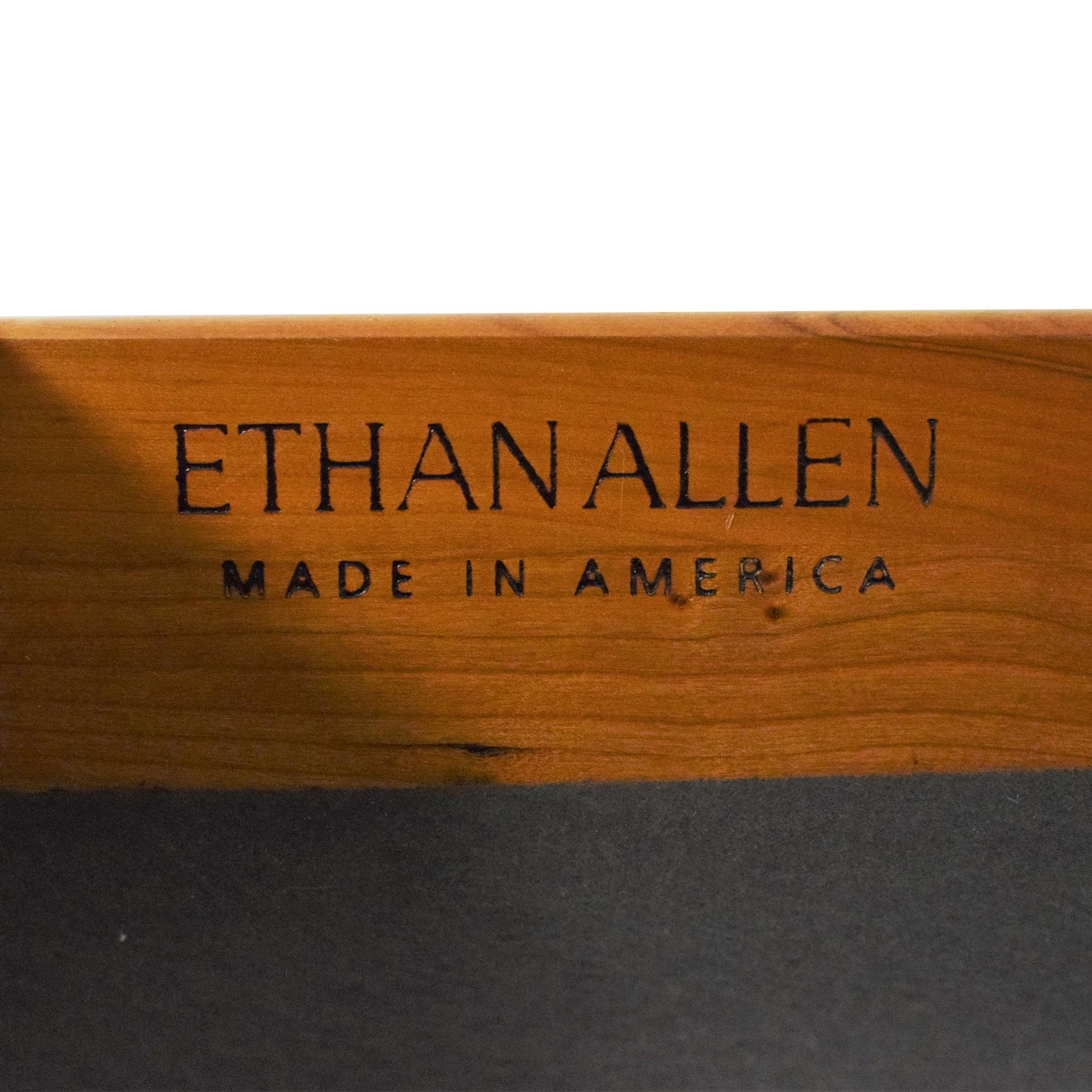 Ethan Allen Ethan Allen Medallion Flip Top Buffet Cabinet ma