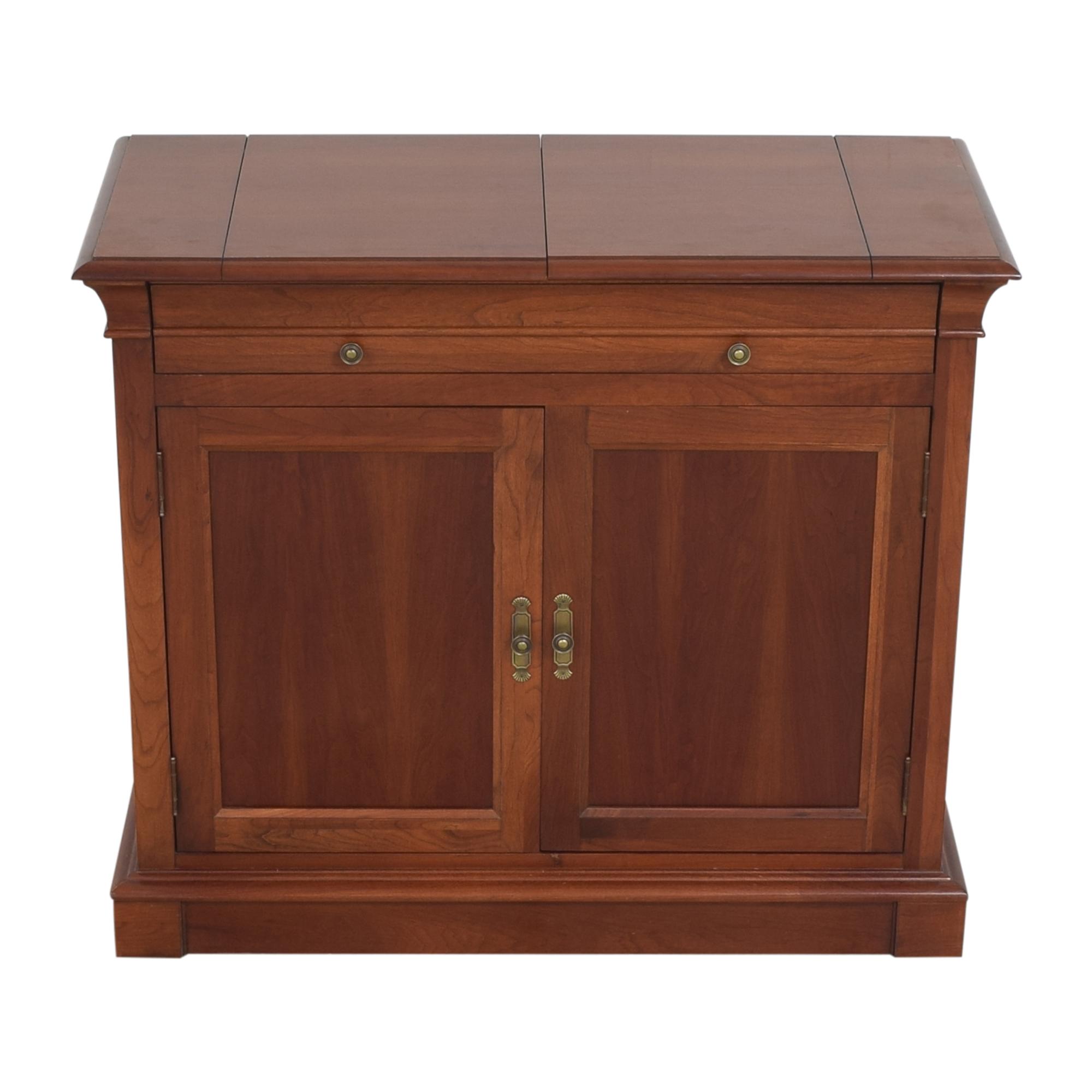 Ethan Allen Ethan Allen Medallion Flip Top Buffet Cabinet nj