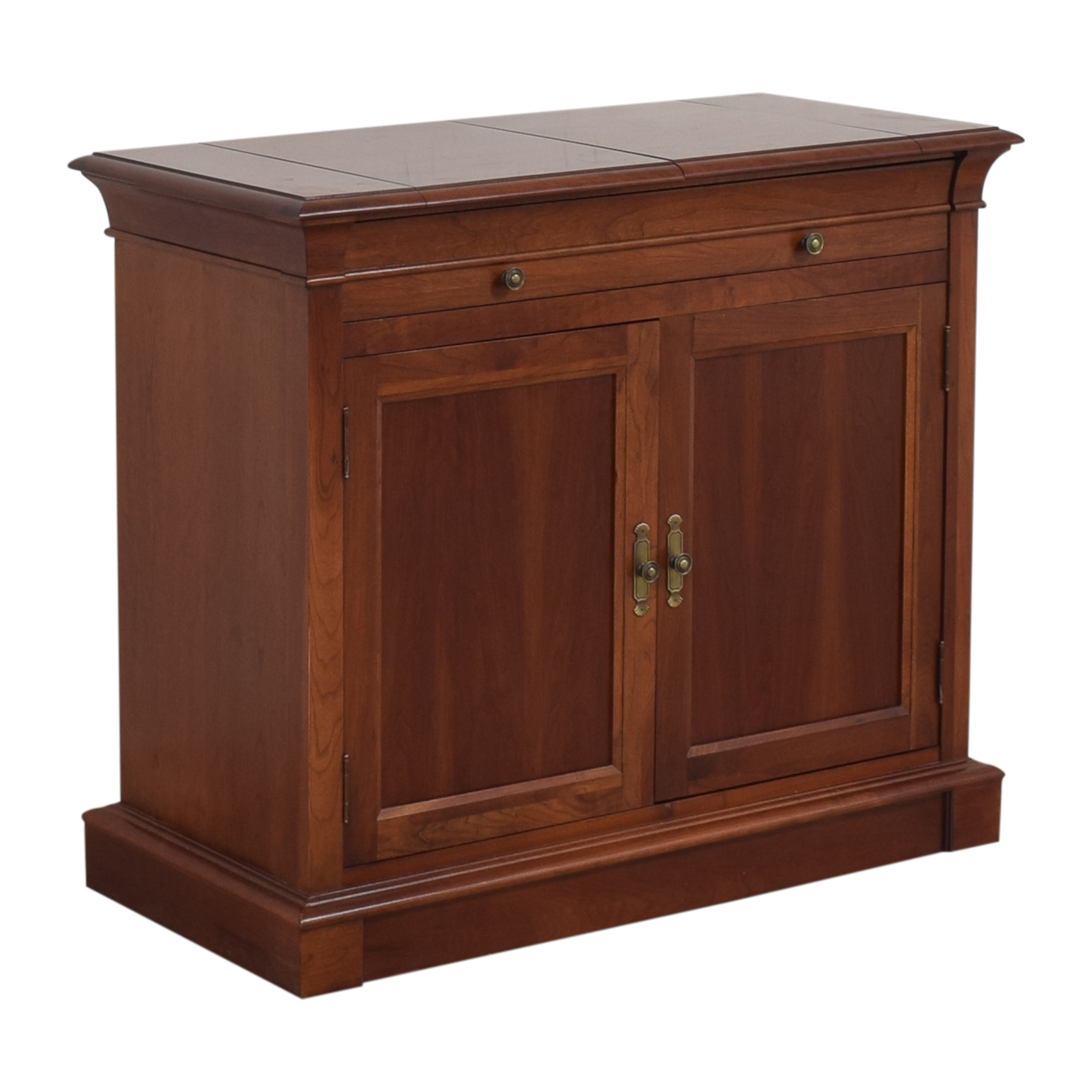 buy Ethan Allen Medallion Flip Top Buffet Cabinet Ethan Allen Cabinets & Sideboards