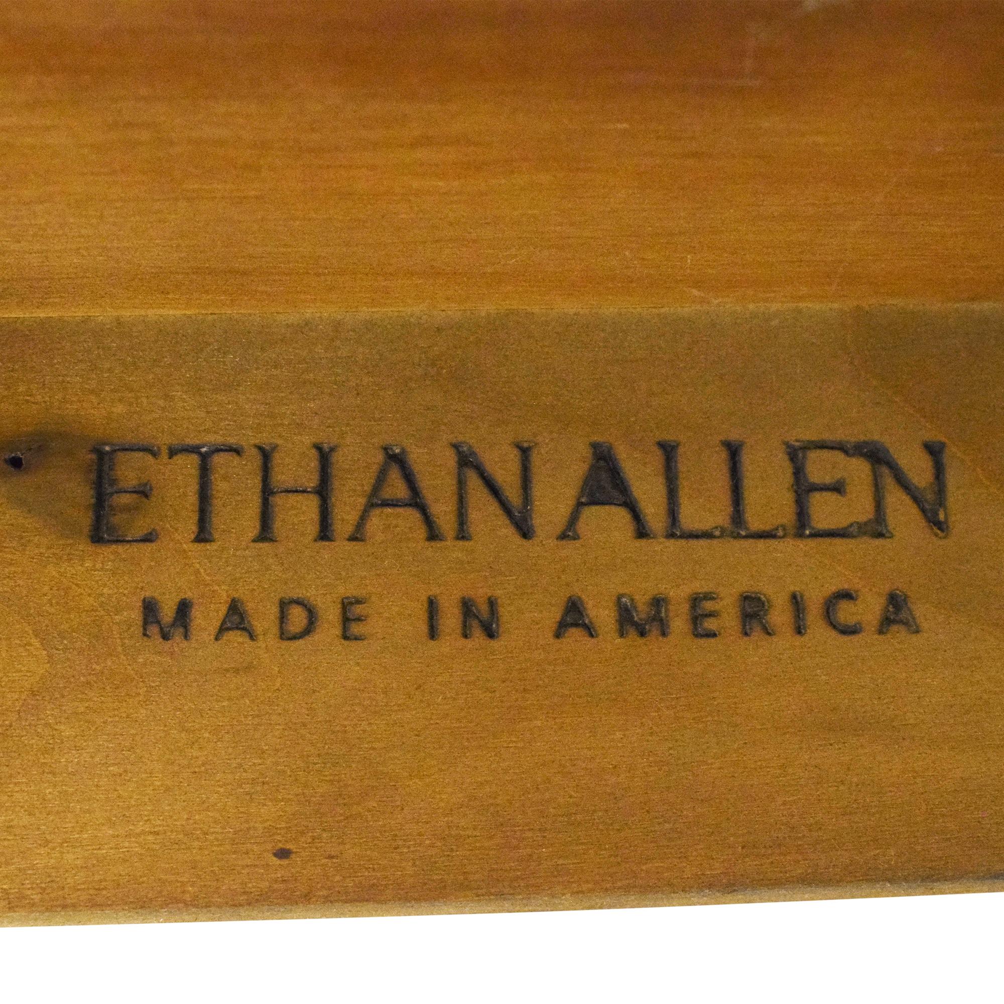 Ethan Allen Ethan Allen Medallion Crescent Console Table