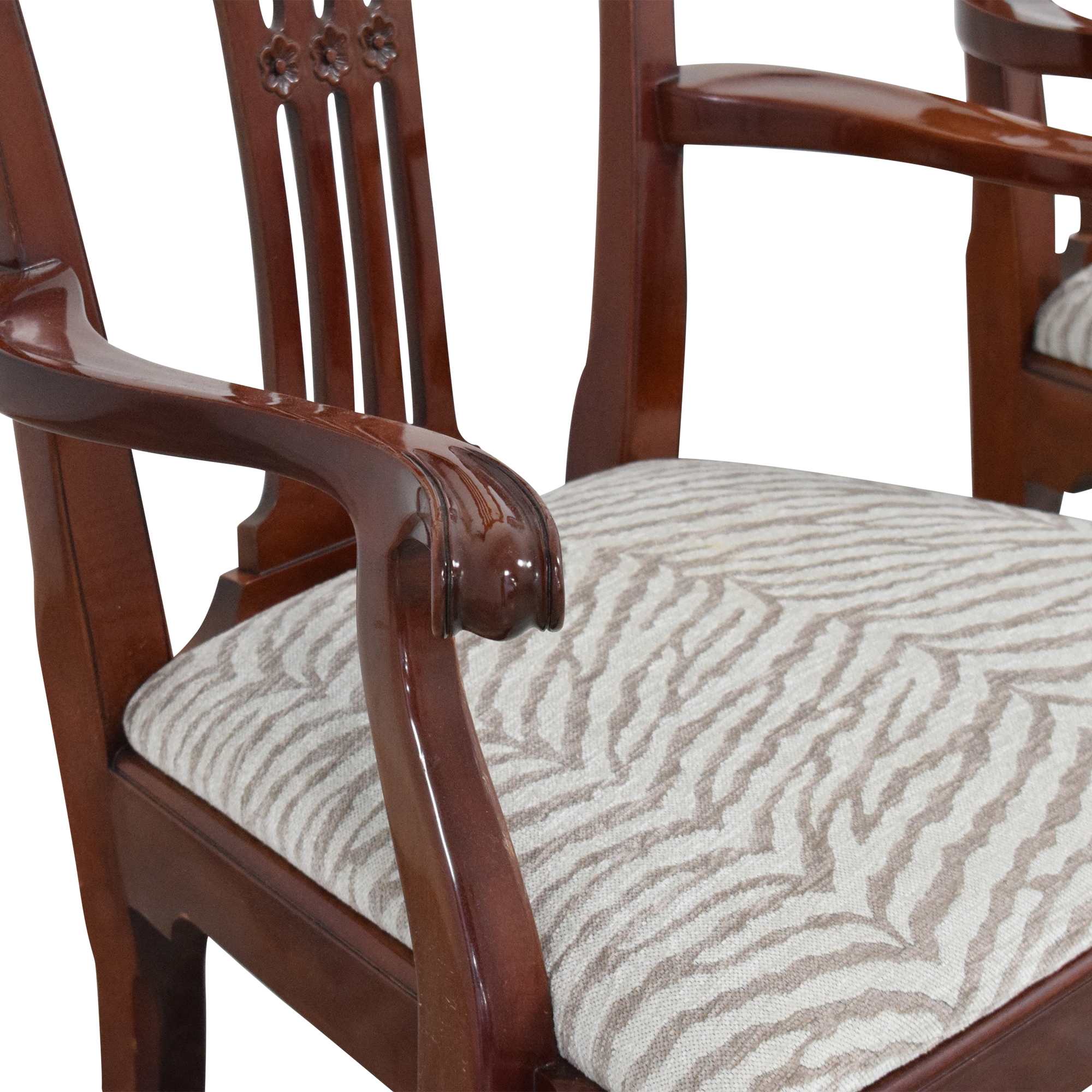 Kindel Kindel Chippendale-Style Dining Arm Chairs price
