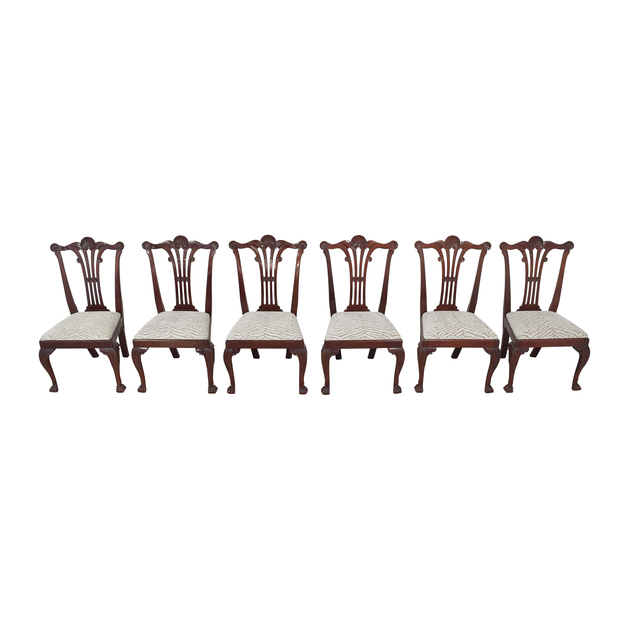Kindel Kindel Chippendale-Style Dining Side Chairs on sale