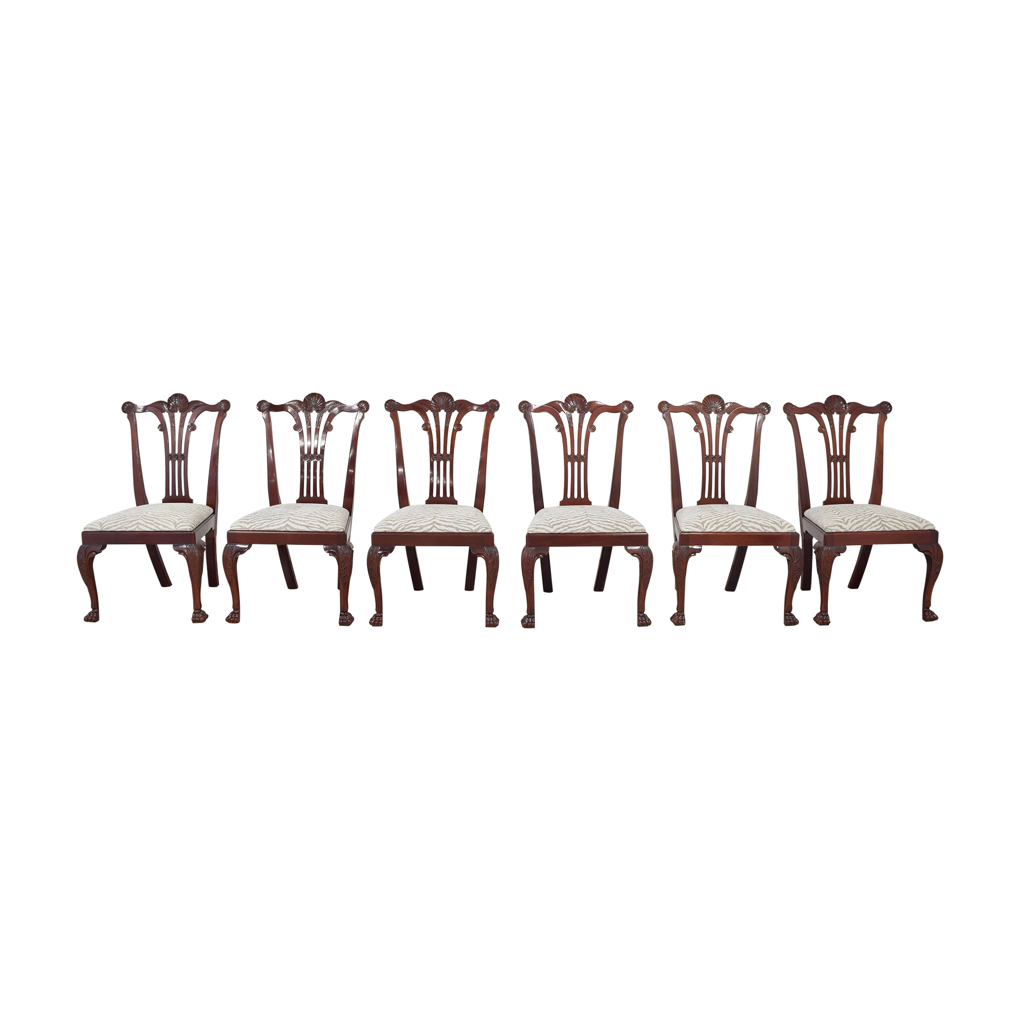 Kindel Kindel Chippendale-Style Dining Side Chairs price