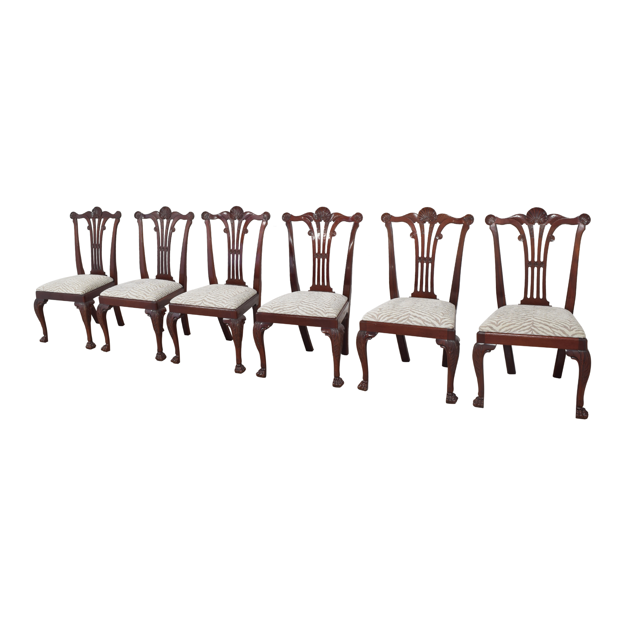 buy Kindel Kindel Chippendale-Style Dining Side Chairs online