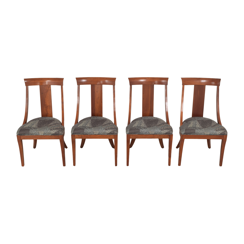Ethan Allen Ethan Allen Medallion Dining Chairs discount