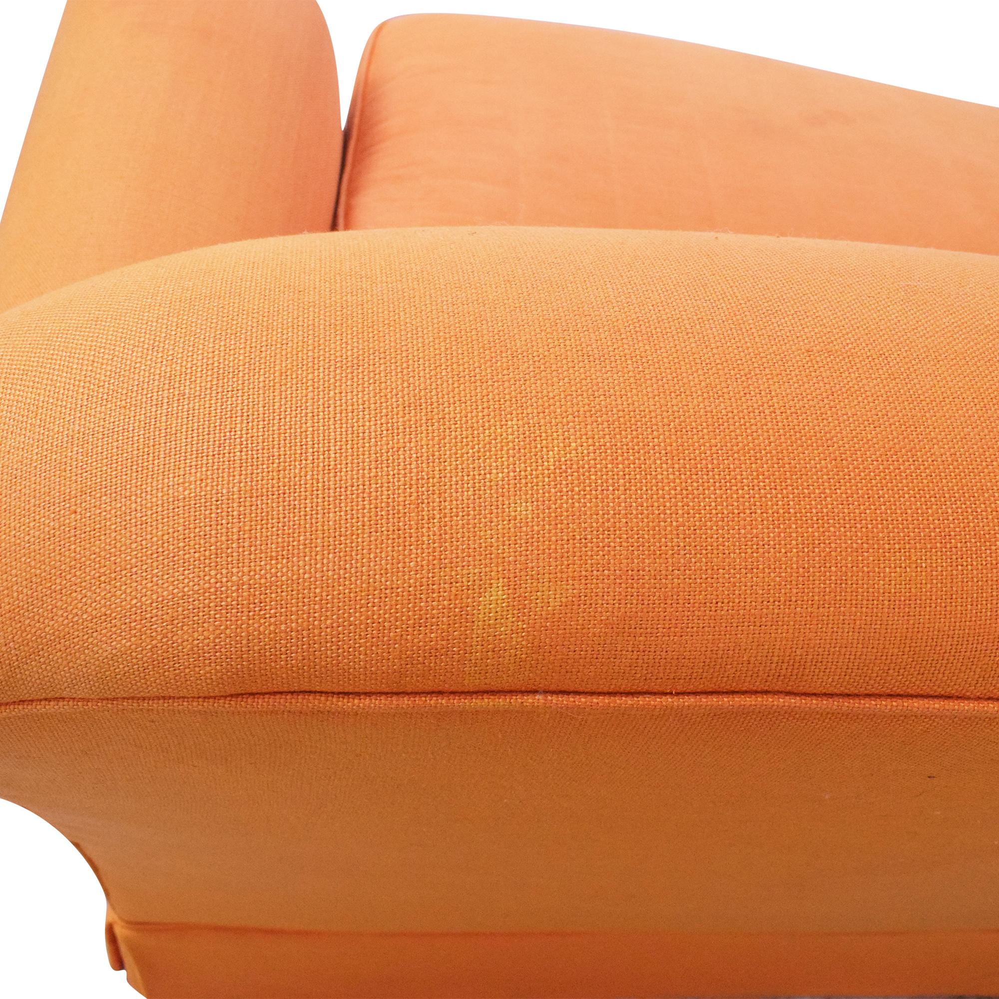 George Smith Bench Cushion Sofa sale