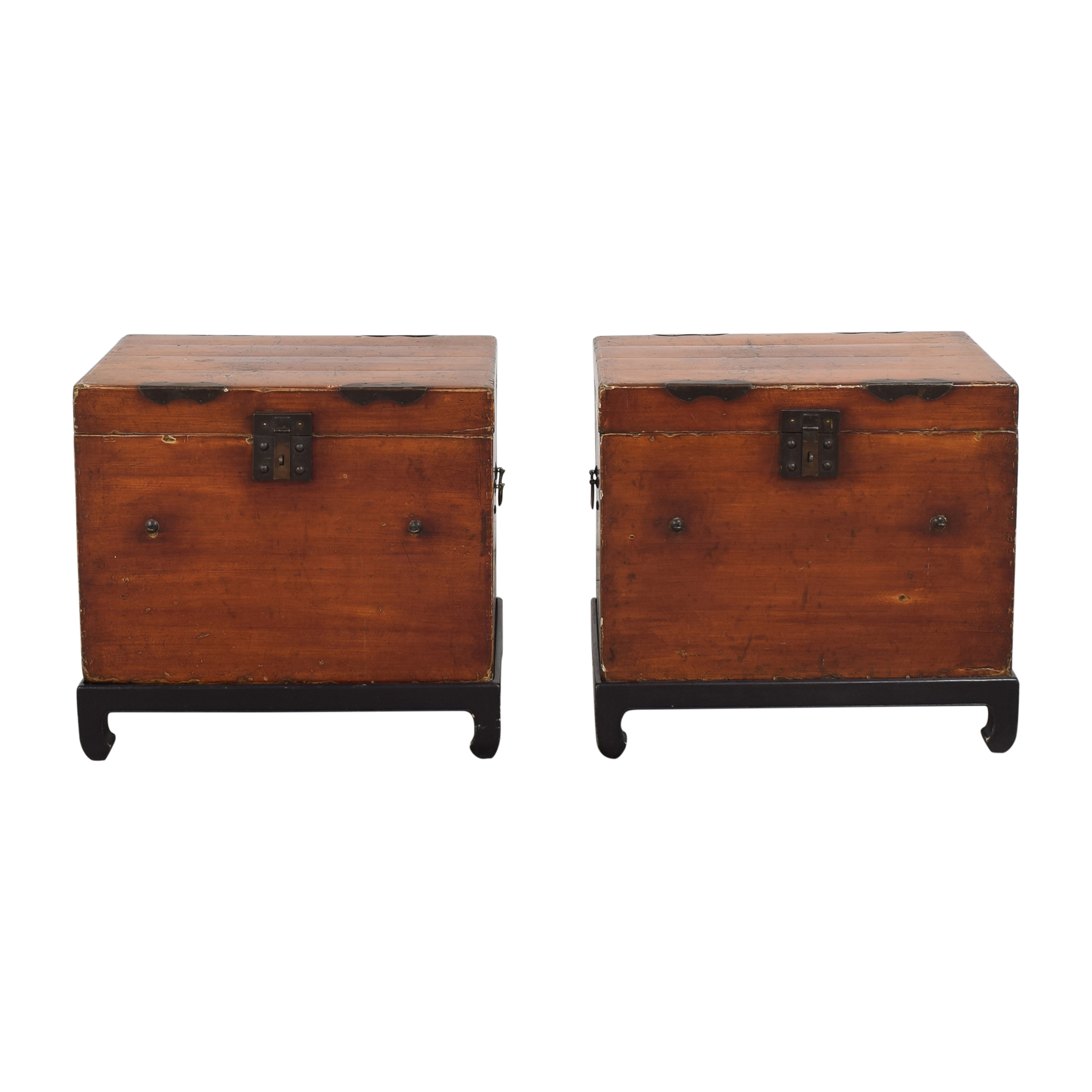 Trunk Side Tables used