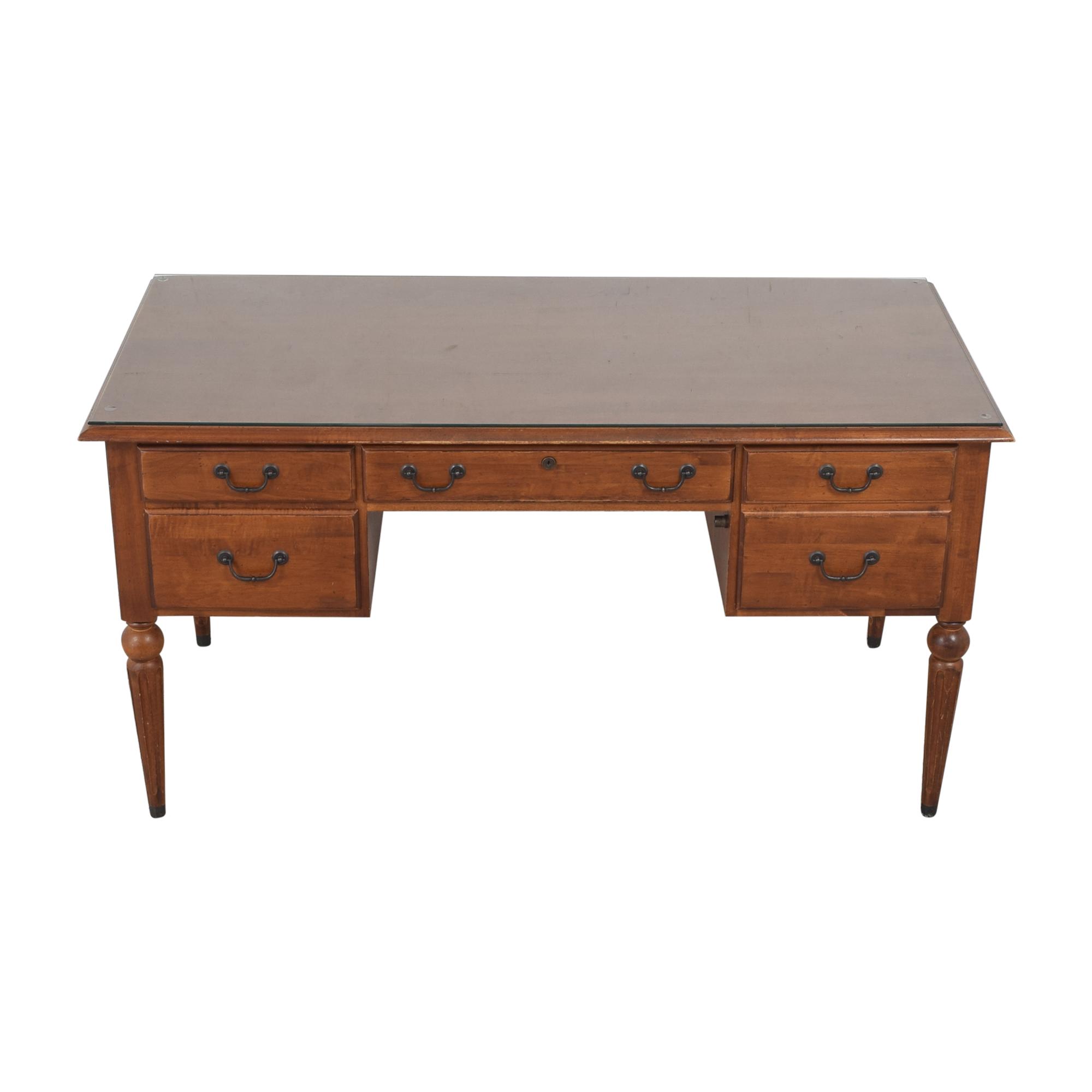 Ethan Allen Ethan Allen Country Crossings Writing Desk brown