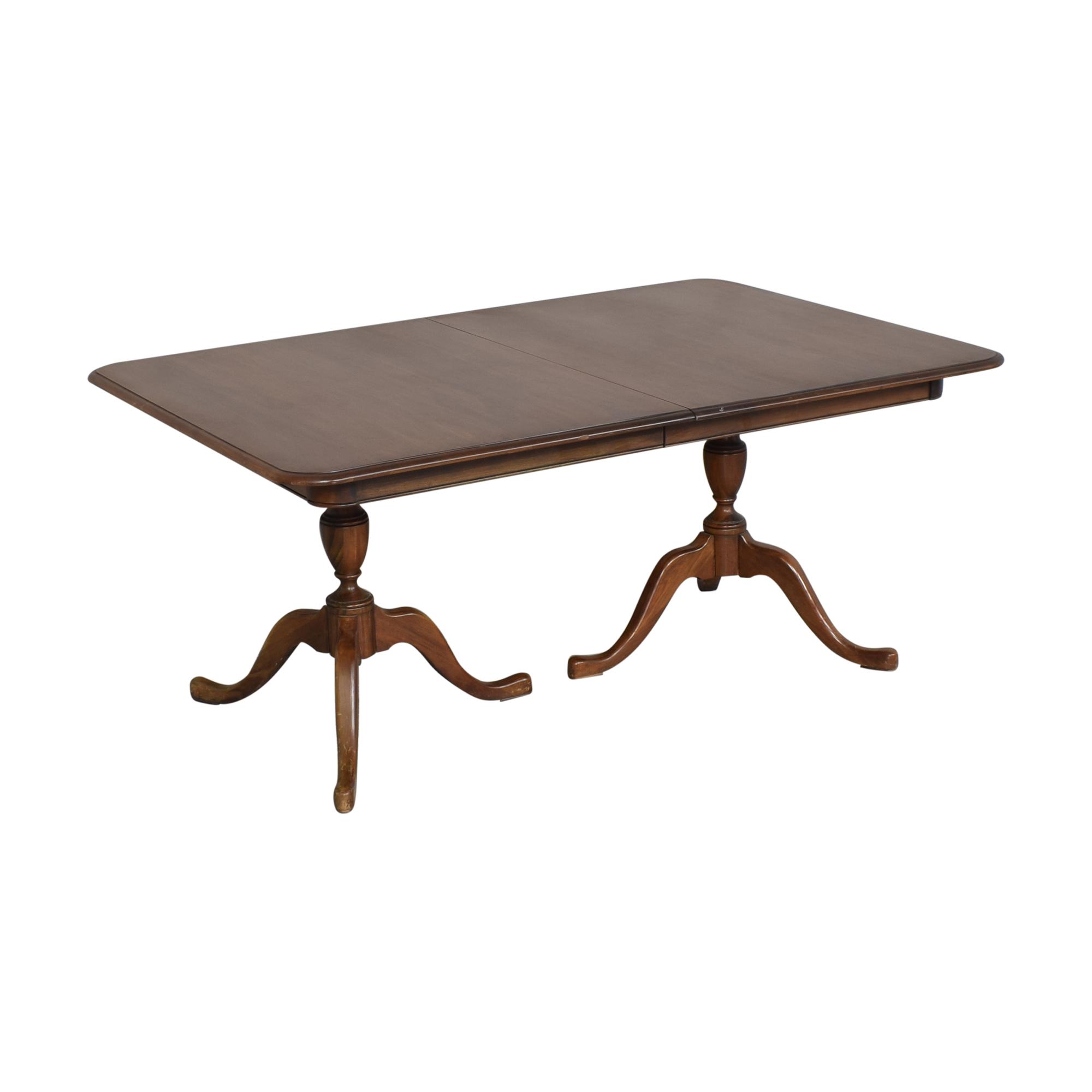 Pennsylvania House Pennsylvania House Double Pedestal Dining Table on sale
