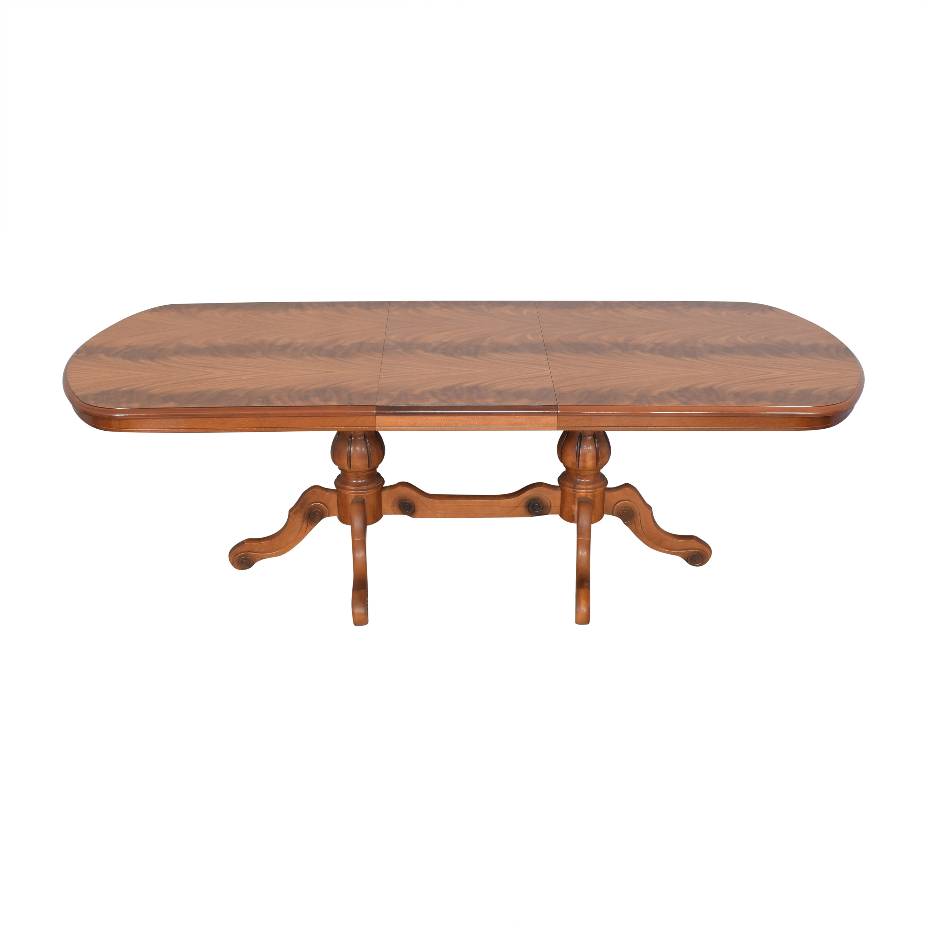 shop Extendable Trestle Dining Table  Tables