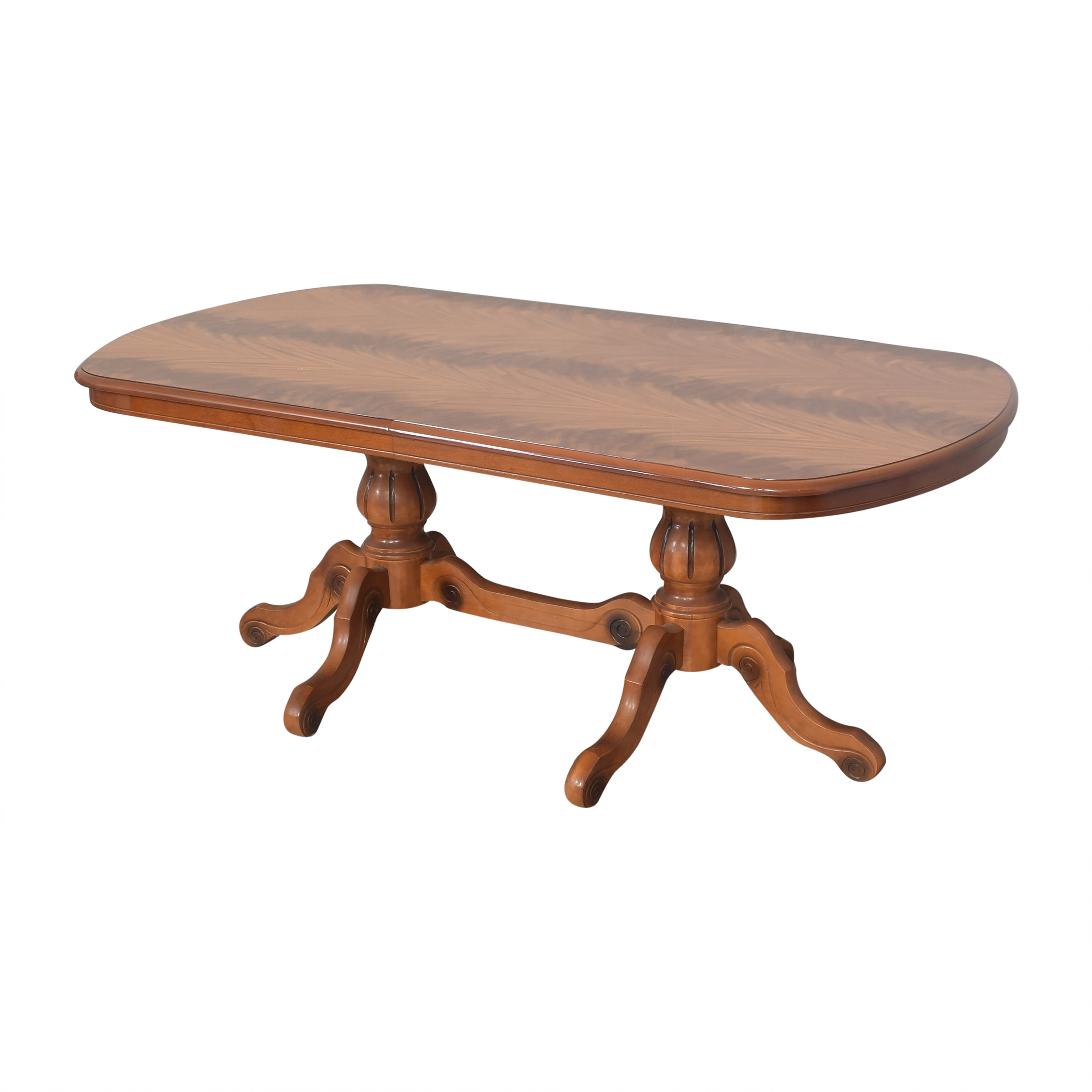 Extendable Trestle Dining Table