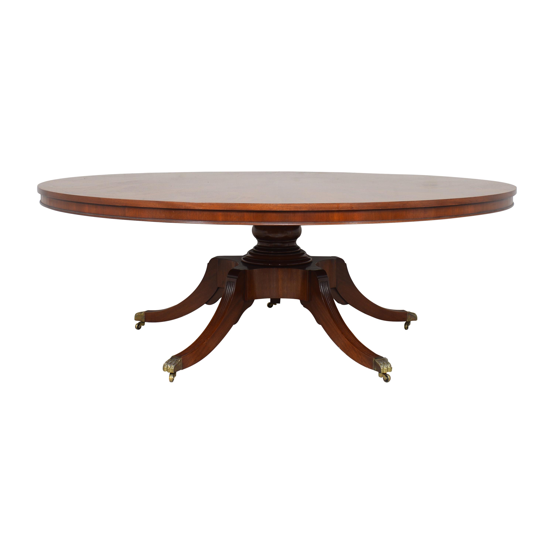 Arthur Brett Arthur Brett A Monkey Pod Round Dining Table used