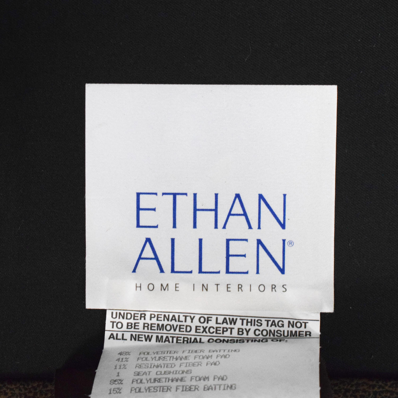 Ethan Allen Ethan Allen Tufted Wingback Chair discount