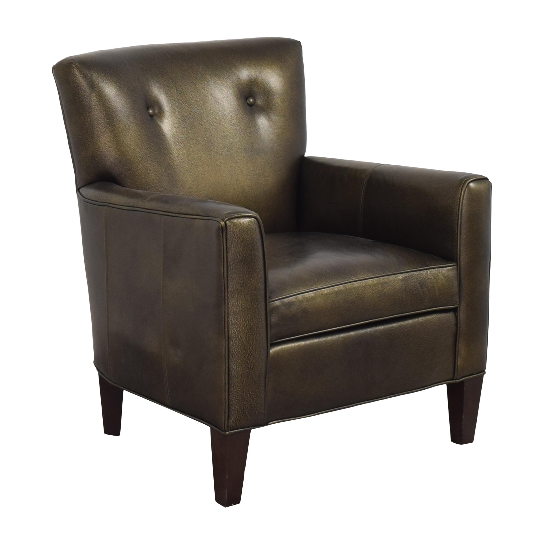 shop Ethan Allen Tufted Wingback Chair Ethan Allen