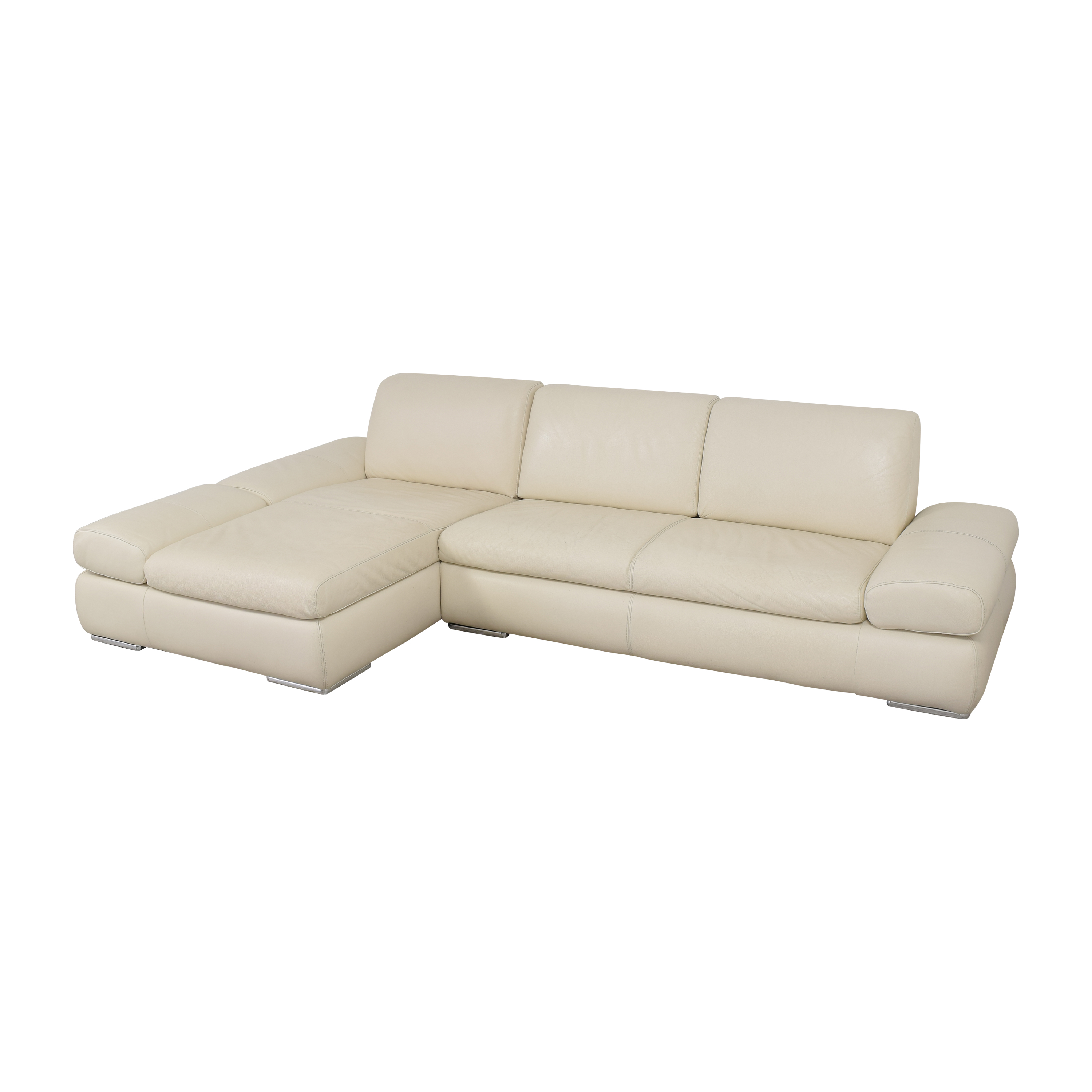 Bloomingdale's Bloomingdale's Sectional Sofa with Chaise dimensions