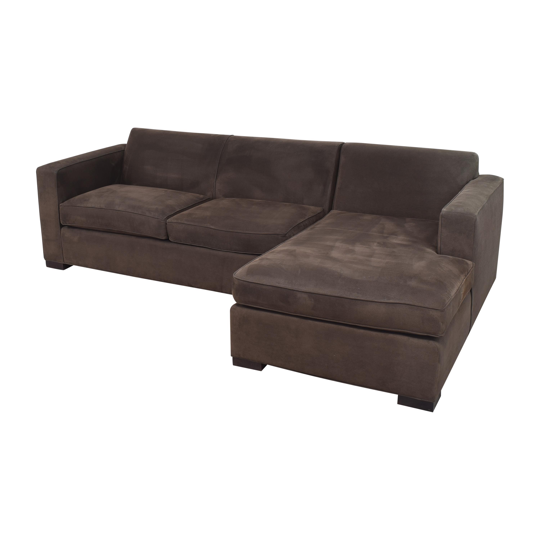 shop Room & Board Ian Sectional Sofa with Ottoman Room & Board Sofas