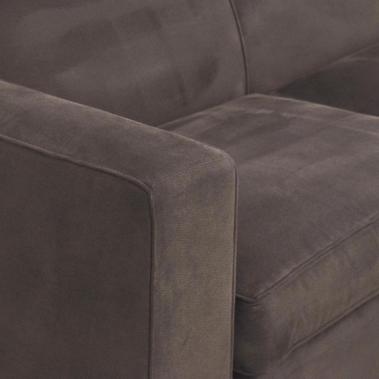 buy Room & Board Ian Sectional Sofa with Ottoman Room & Board