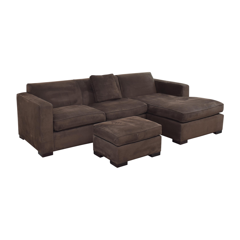 Room & Board Room & Board Ian Sectional Sofa with Ottoman