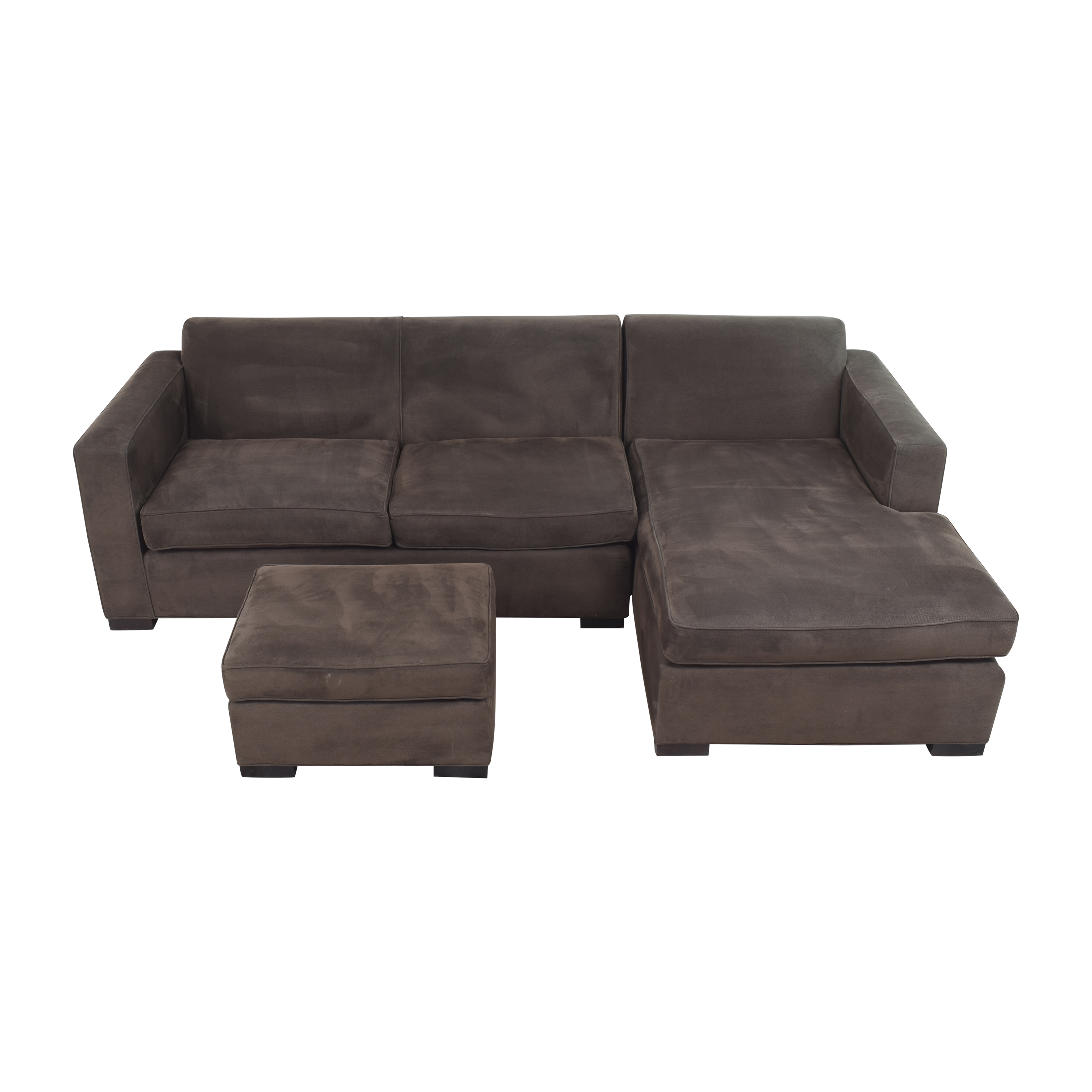 buy Room & Board Ian Sectional Sofa with Ottoman Room & Board Sectionals