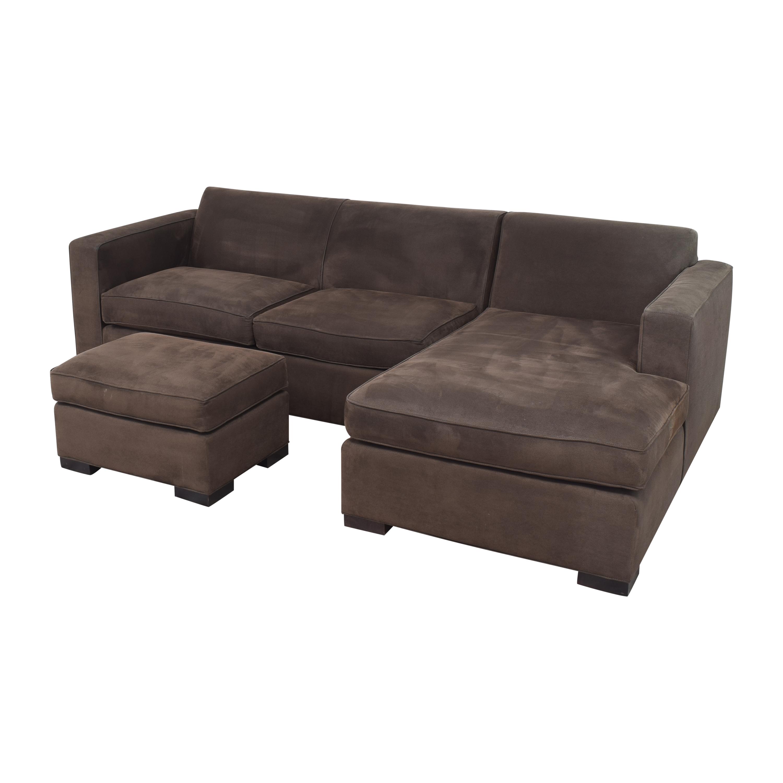 Room & Board Room & Board Ian Sectional Sofa with Ottoman discount