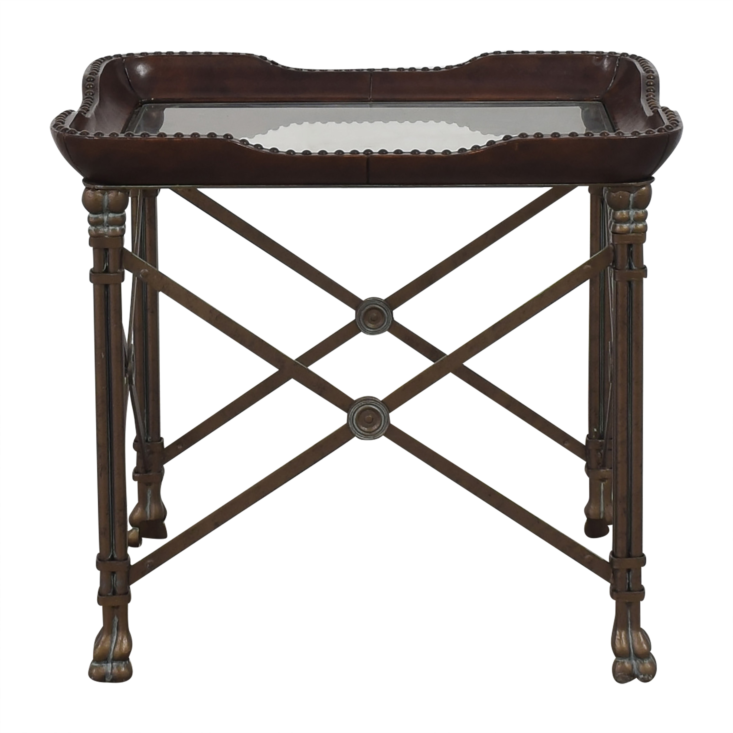Lillian August Lillian August Decorative Side Table brown