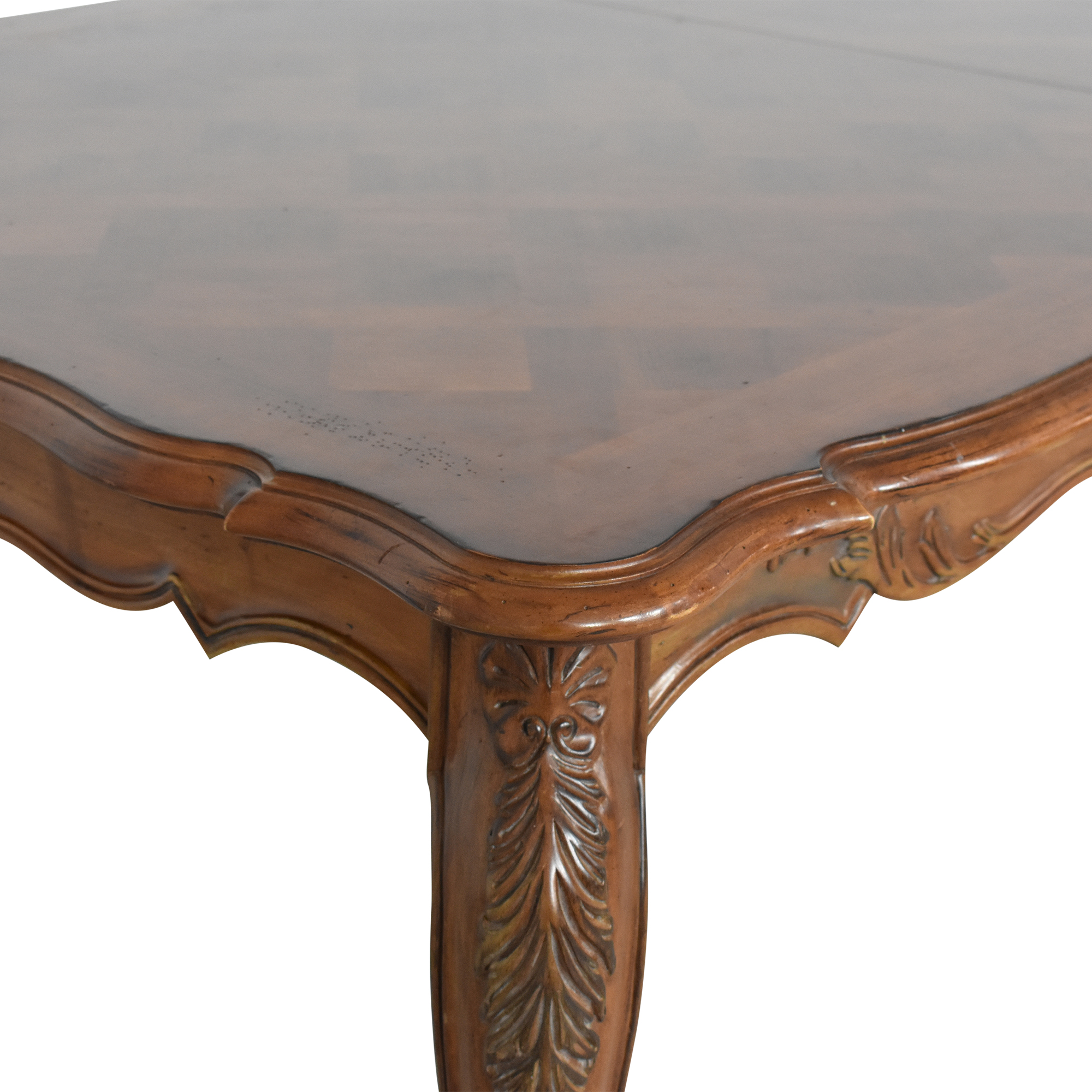 shop Century Furniture French Inlaid Dining Table Century Furniture Tables