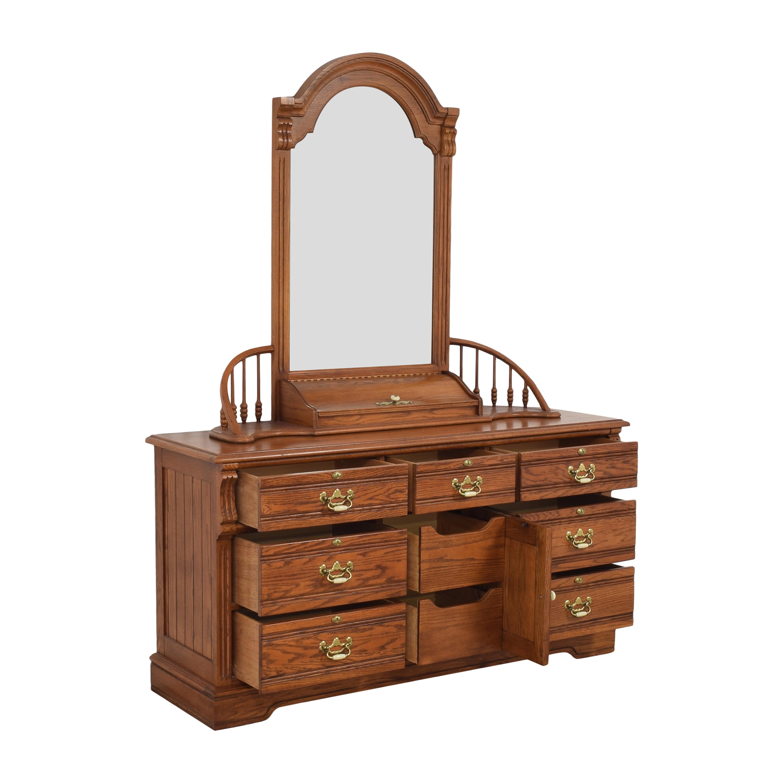 shop Lexington Furniture Dresser with Mirror Lexington Furniture