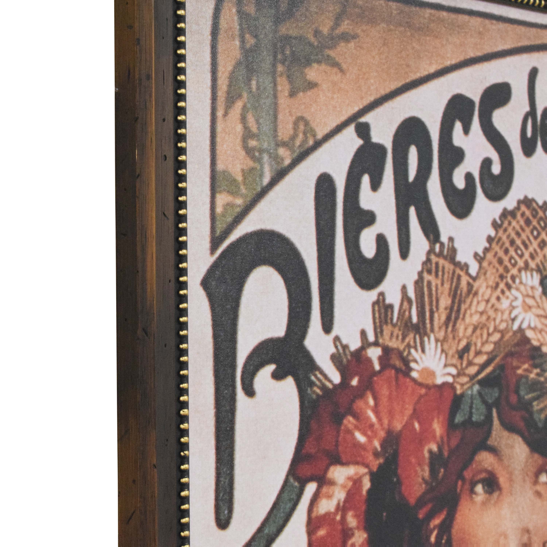 Alphonse Mucha Bieres de la Meuse Framed Wall Art for sale