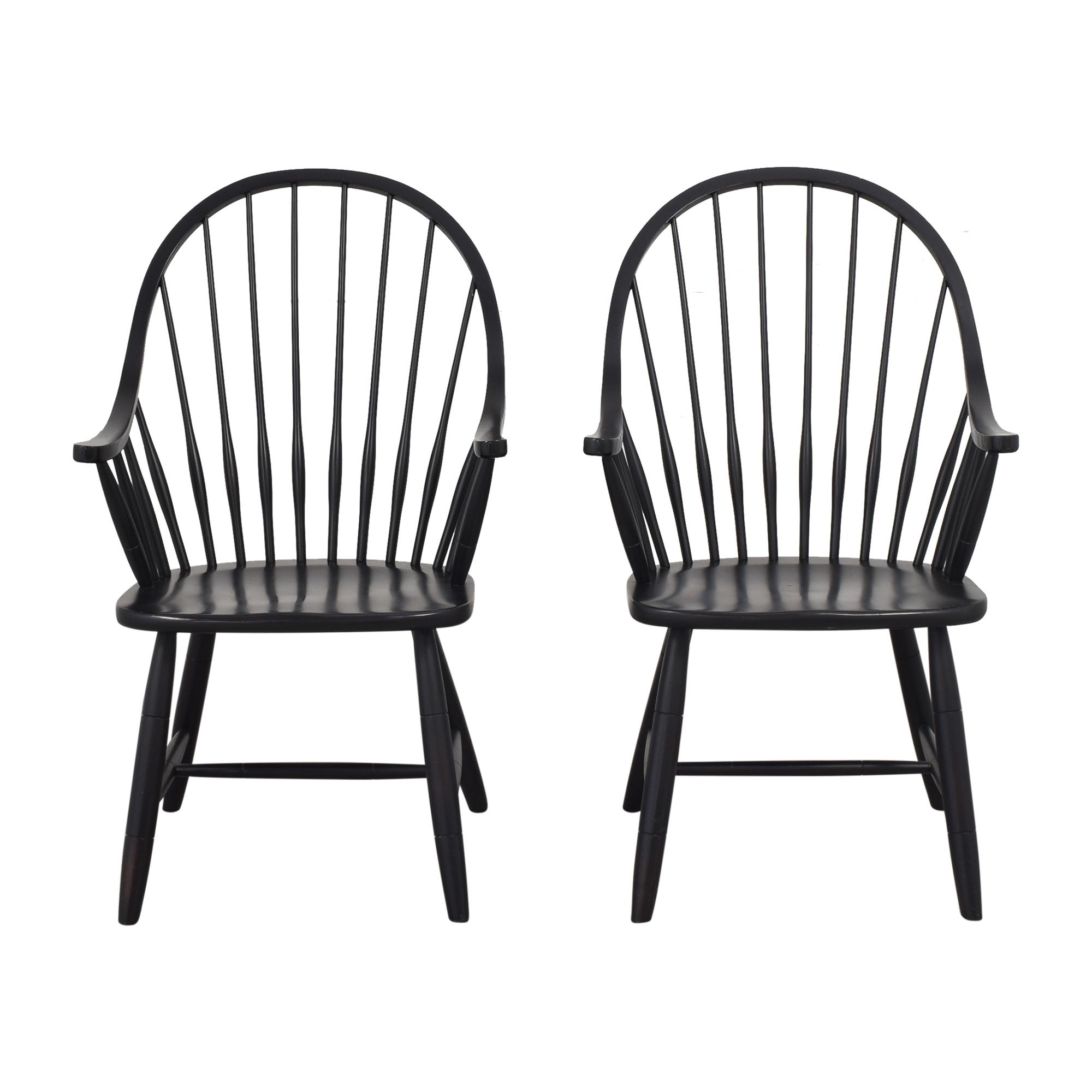 Ethan Allen Gilbert Armchairs / Dining Chairs