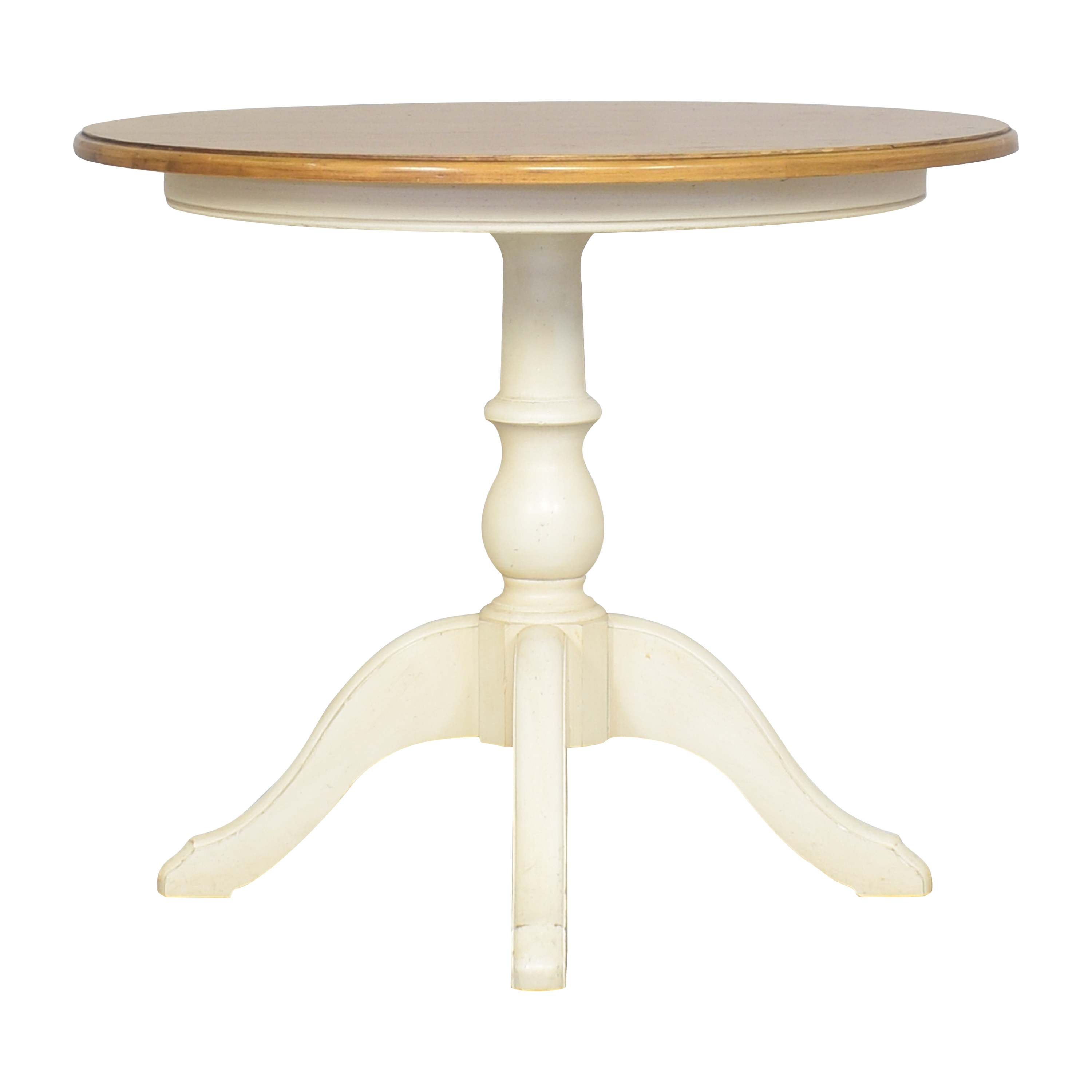 buy Ethan Allen New Country Round Dining Table Ethan Allen Dinner Tables