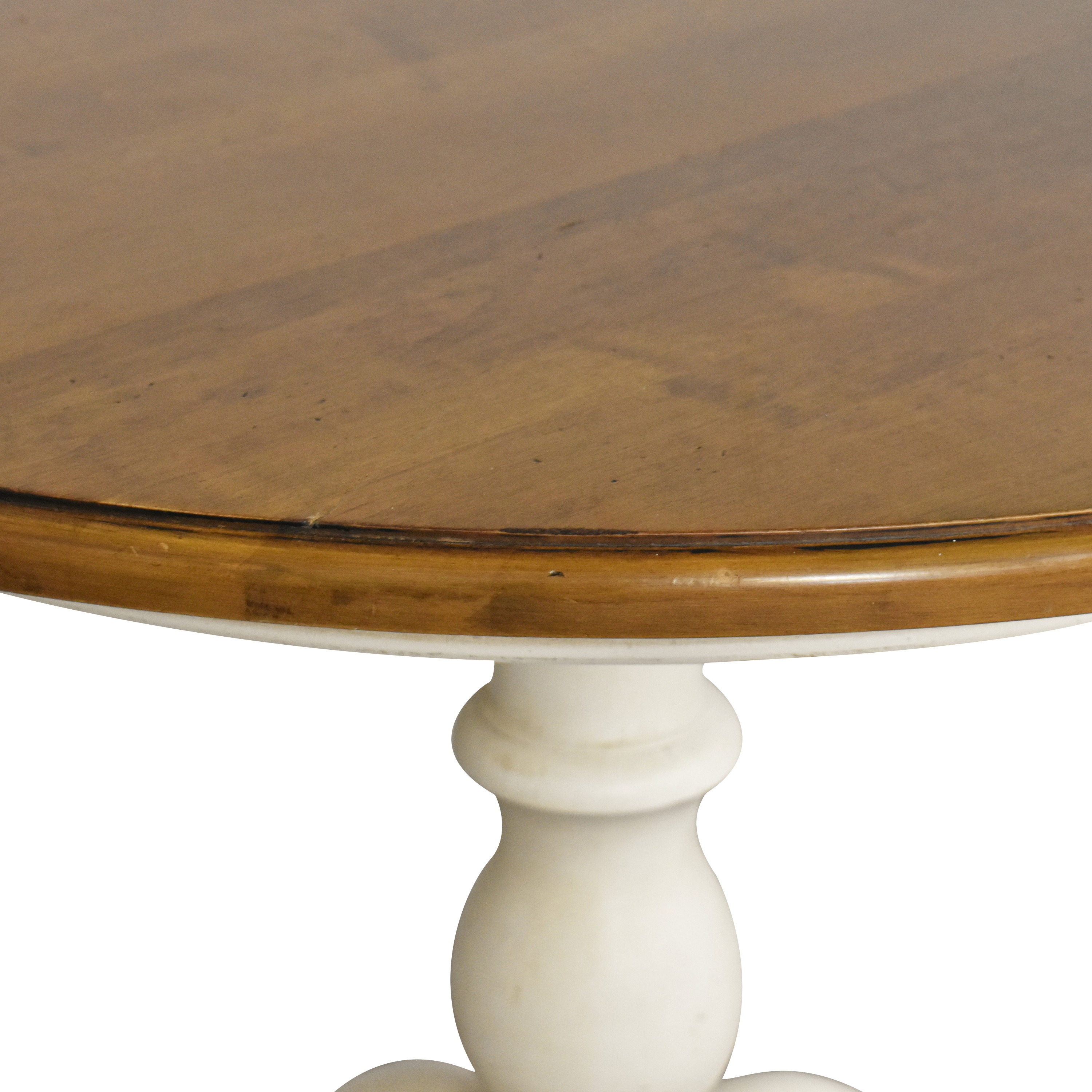 shop Ethan Allen New Country Round Dining Table Ethan Allen