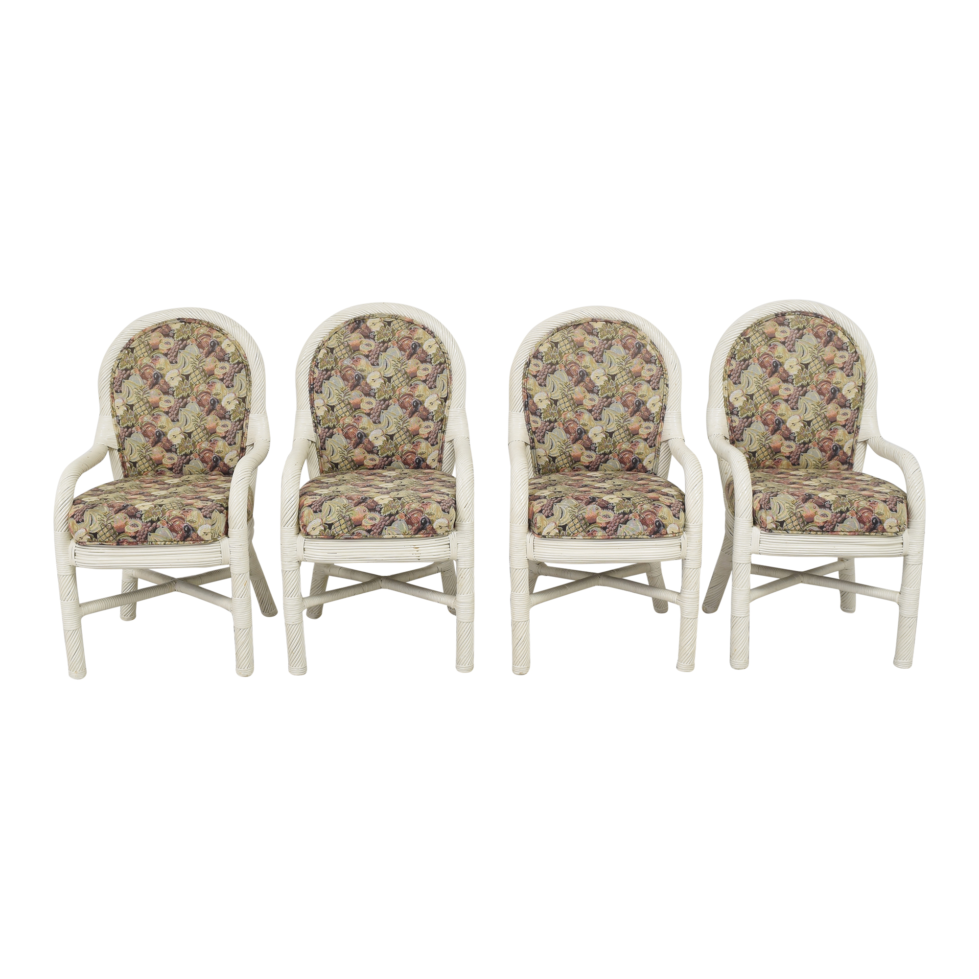 Custom Upholstered Dining Arm Chairs Chairs