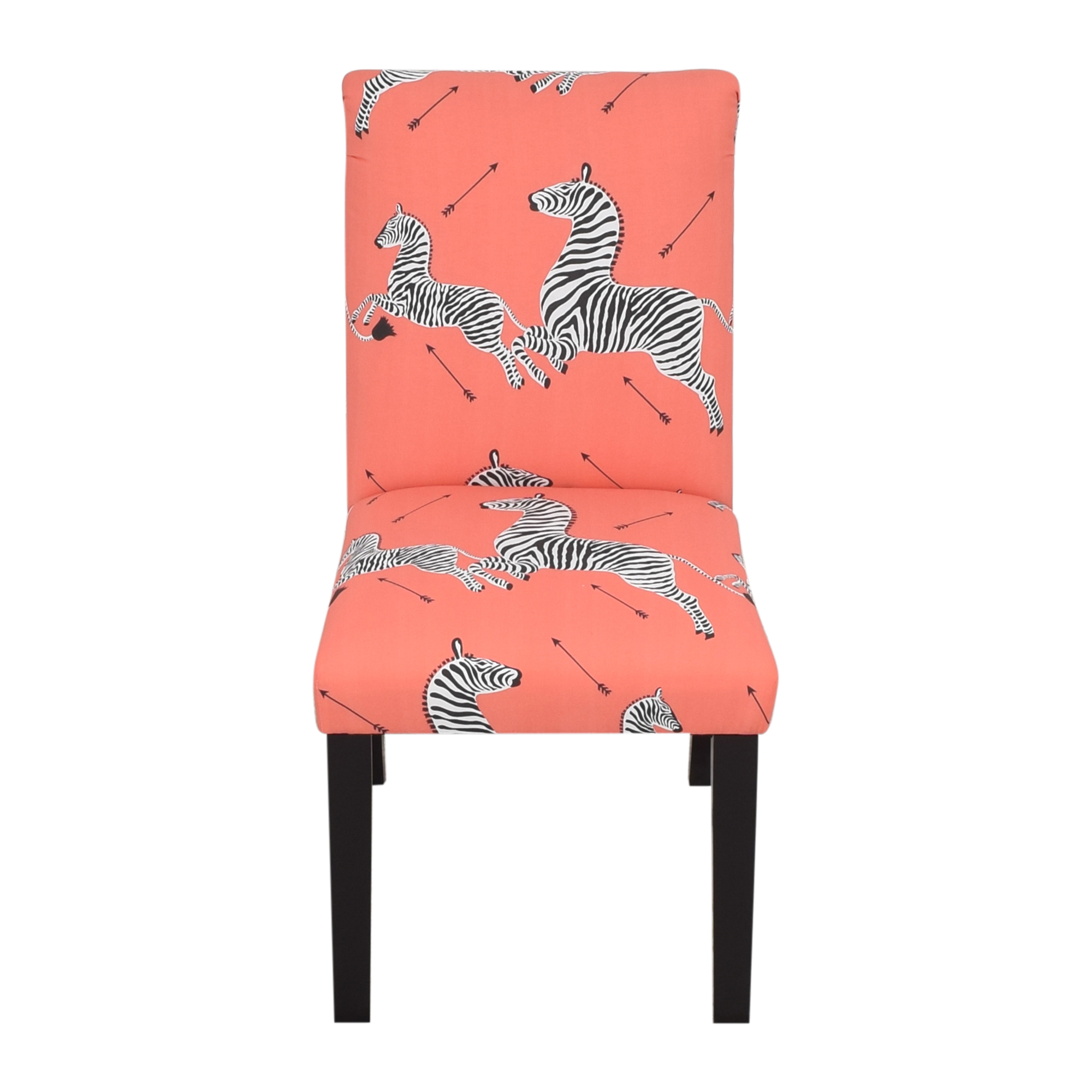 The Inside The Inside Coral Zebra Classic Dining Chair used