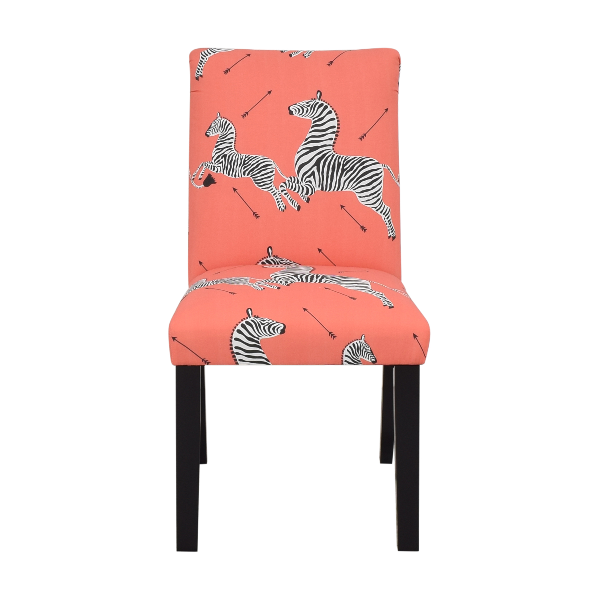 The Inside The Inside Coral Zebra Classic Dining Chair nyc
