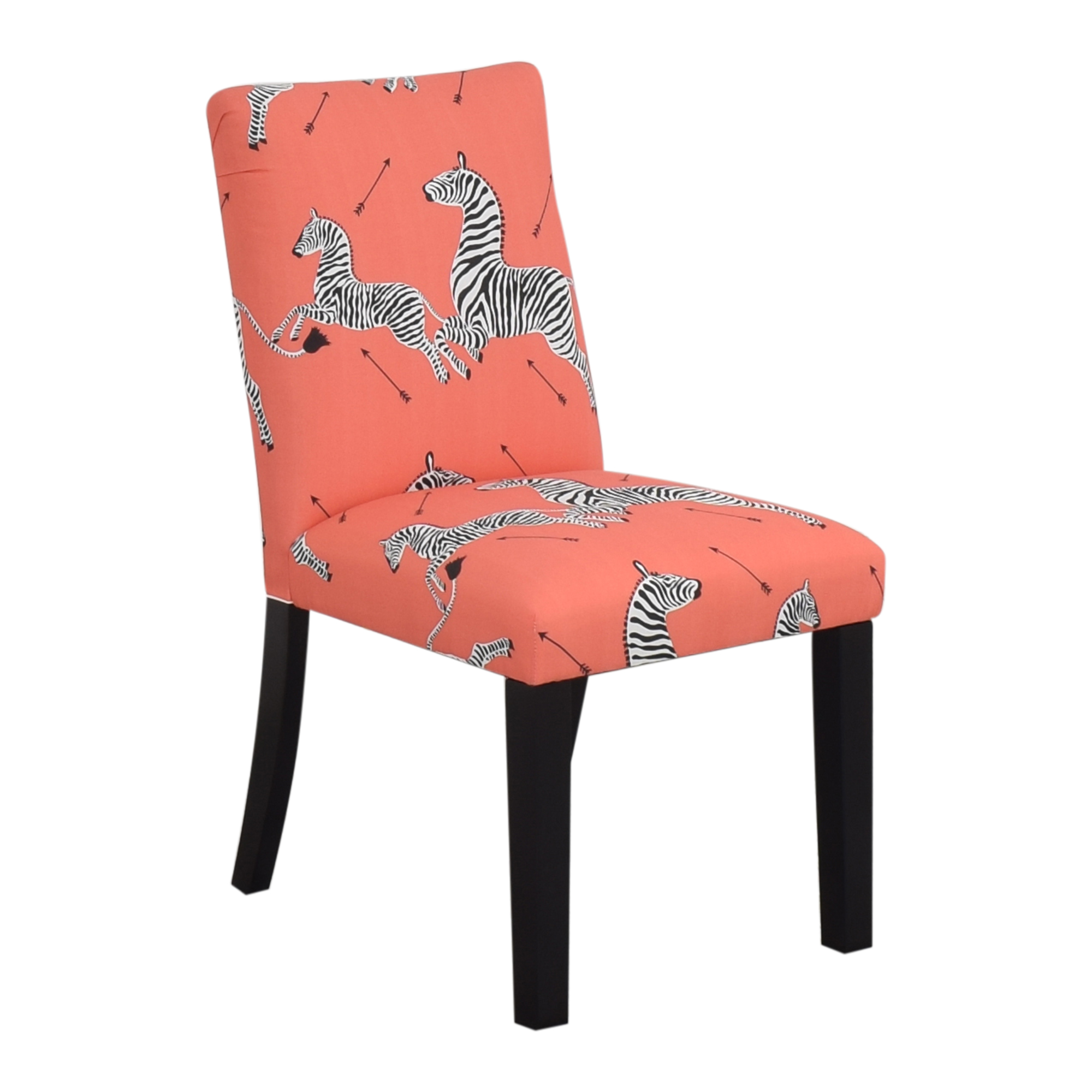 shop The Inside The Inside Coral Zebra Classic Dining Chair online