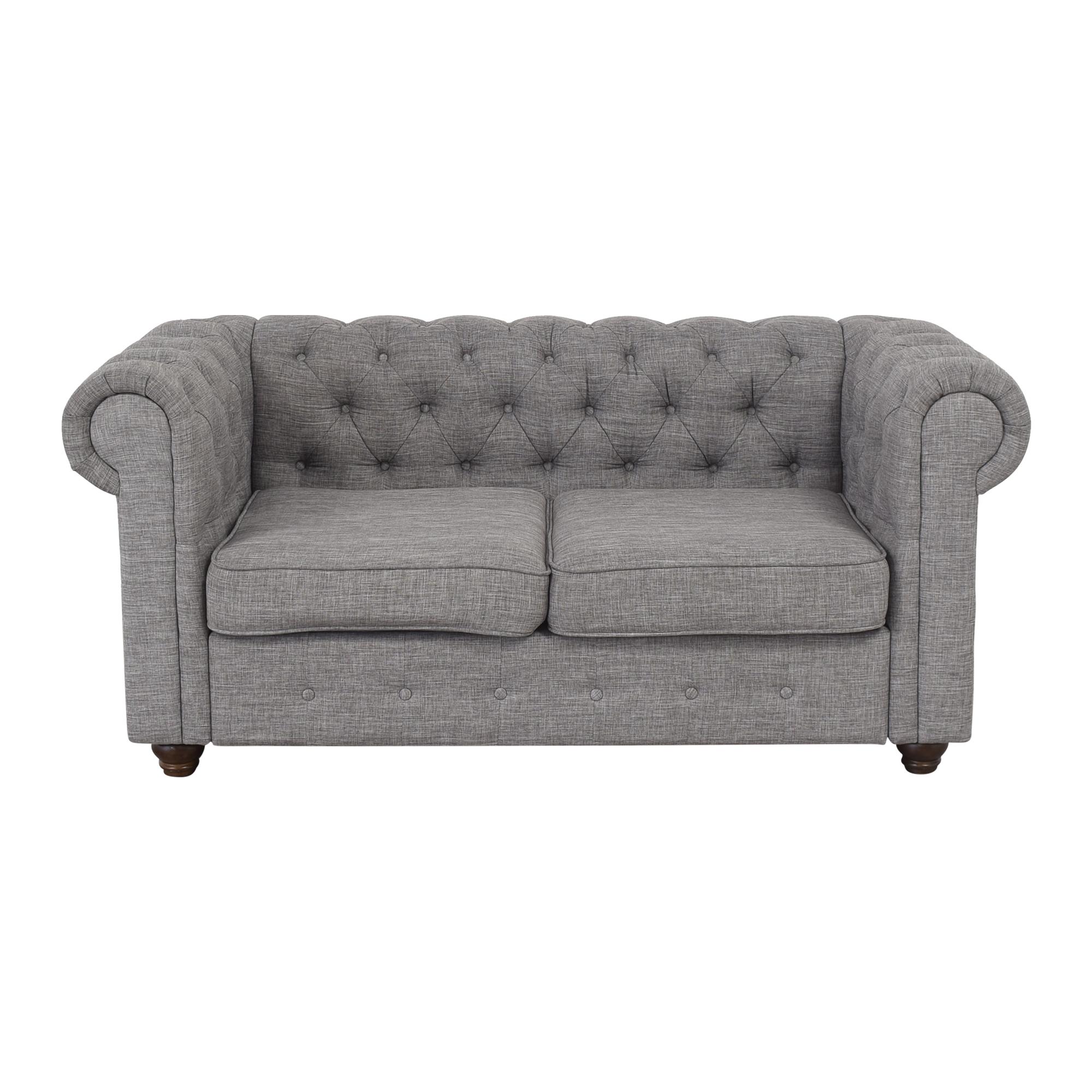 Alton Furniture Alton Furniture Gracia Chesterfield Loveseat