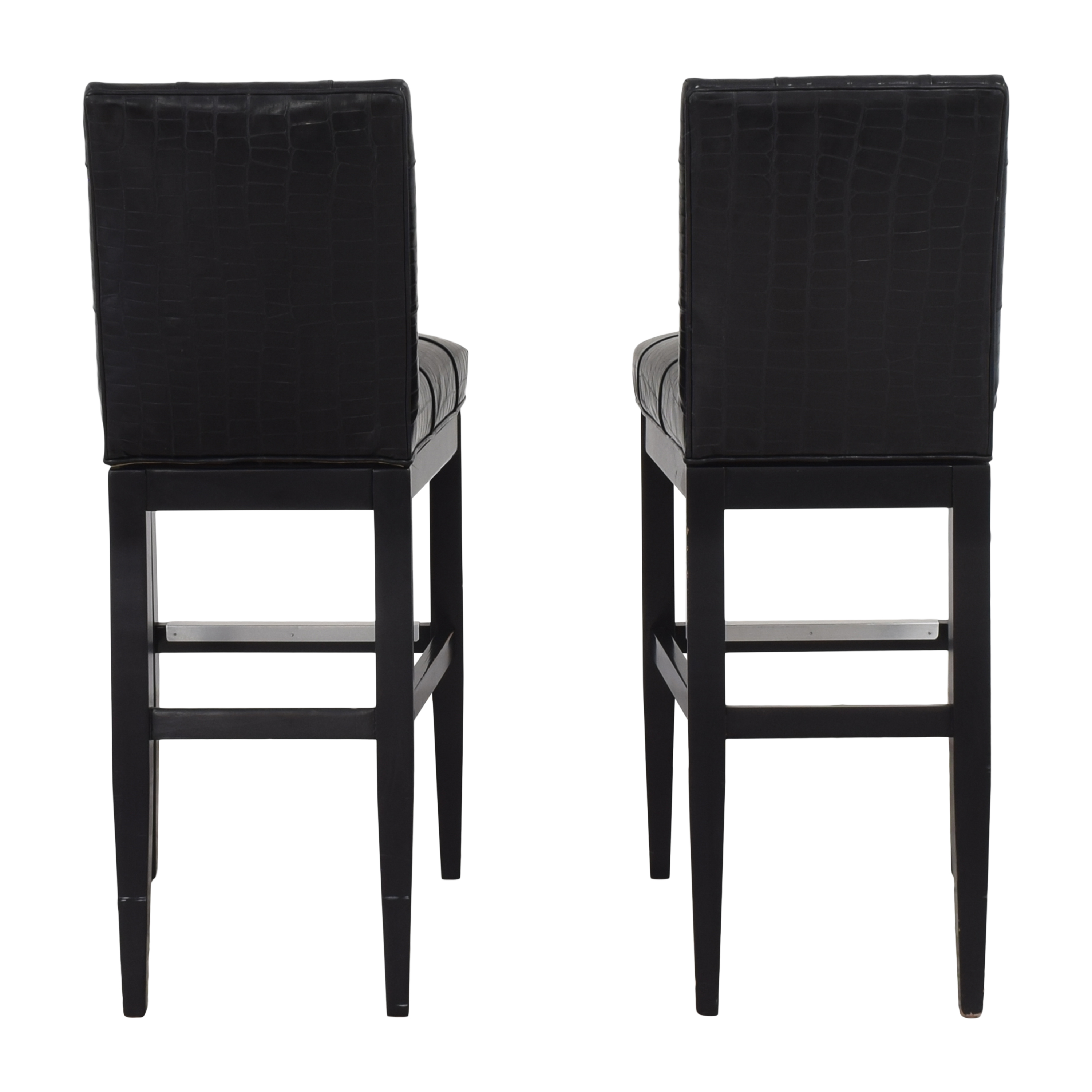 Jessica Charles Jessica Charles Tufted Bar Stools dimensions