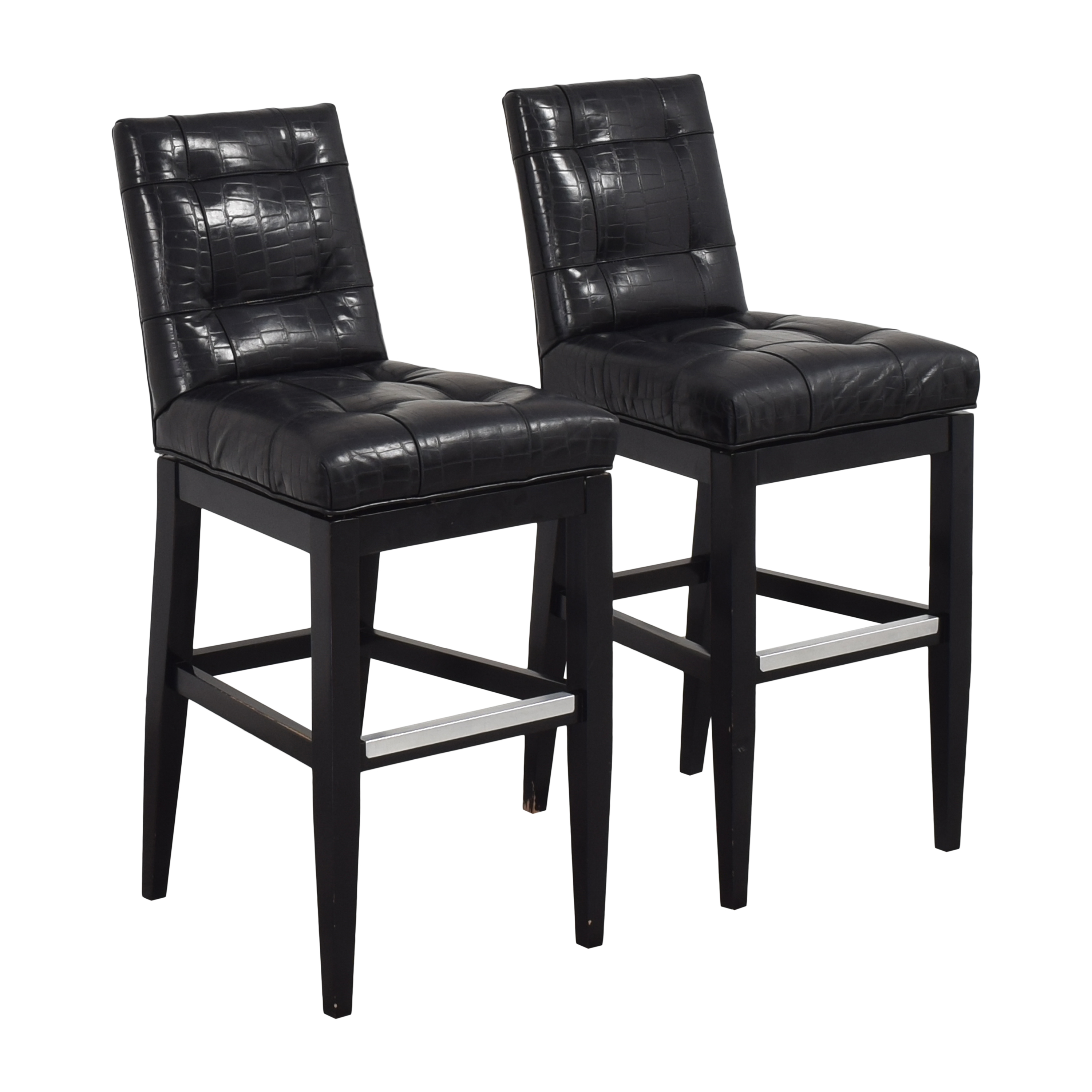 Jessica Charles Jessica Charles Tufted Bar Stools discount