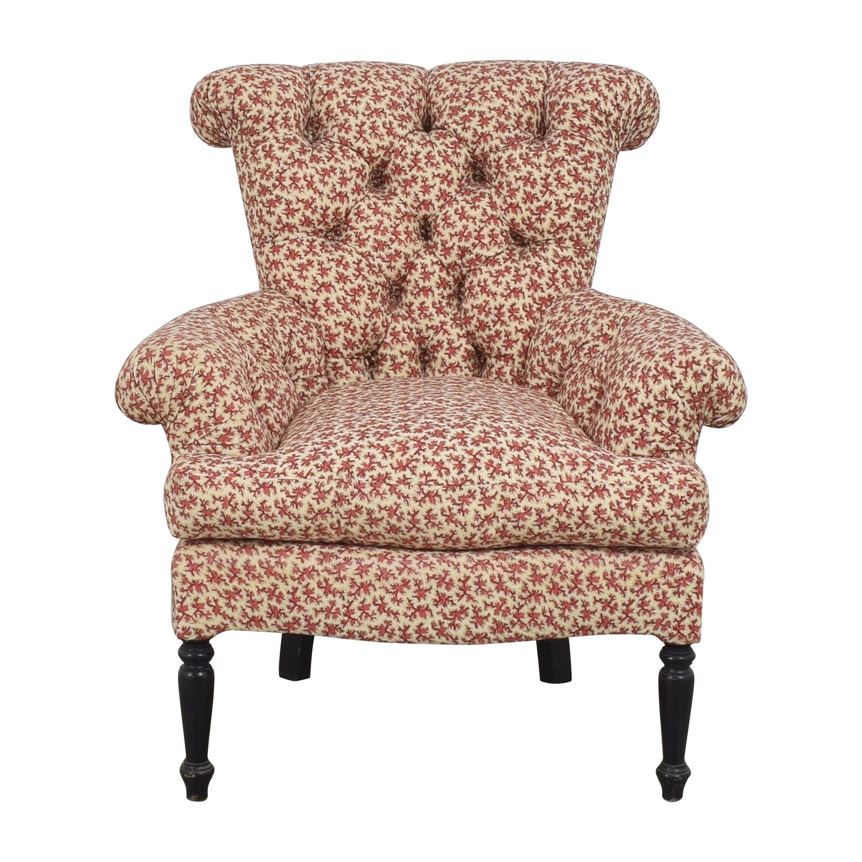 shop Jonas Jonas Tufted Scroll Back Chair online