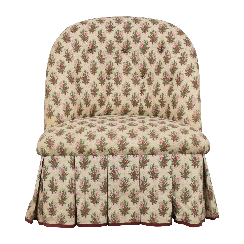 Jonas Jonas Skirted Slipper Chair discount