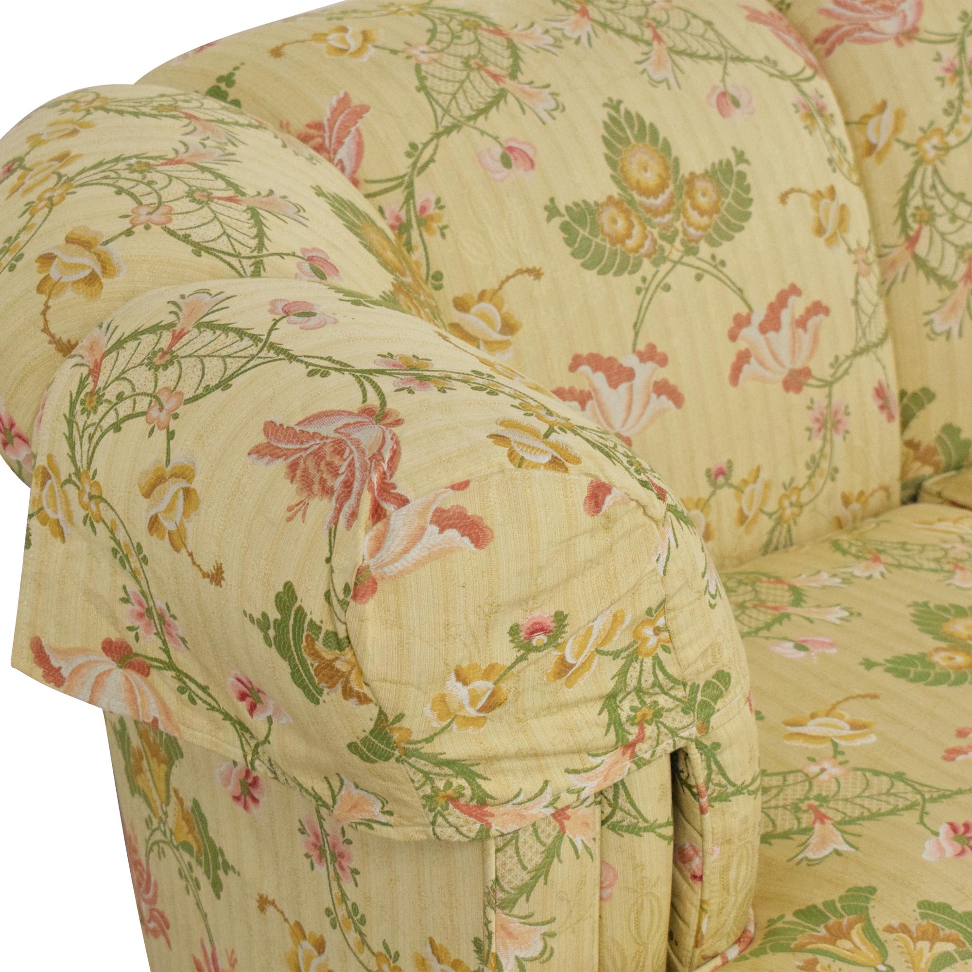 Kindel Kindel Floral Crescent Sofa nj