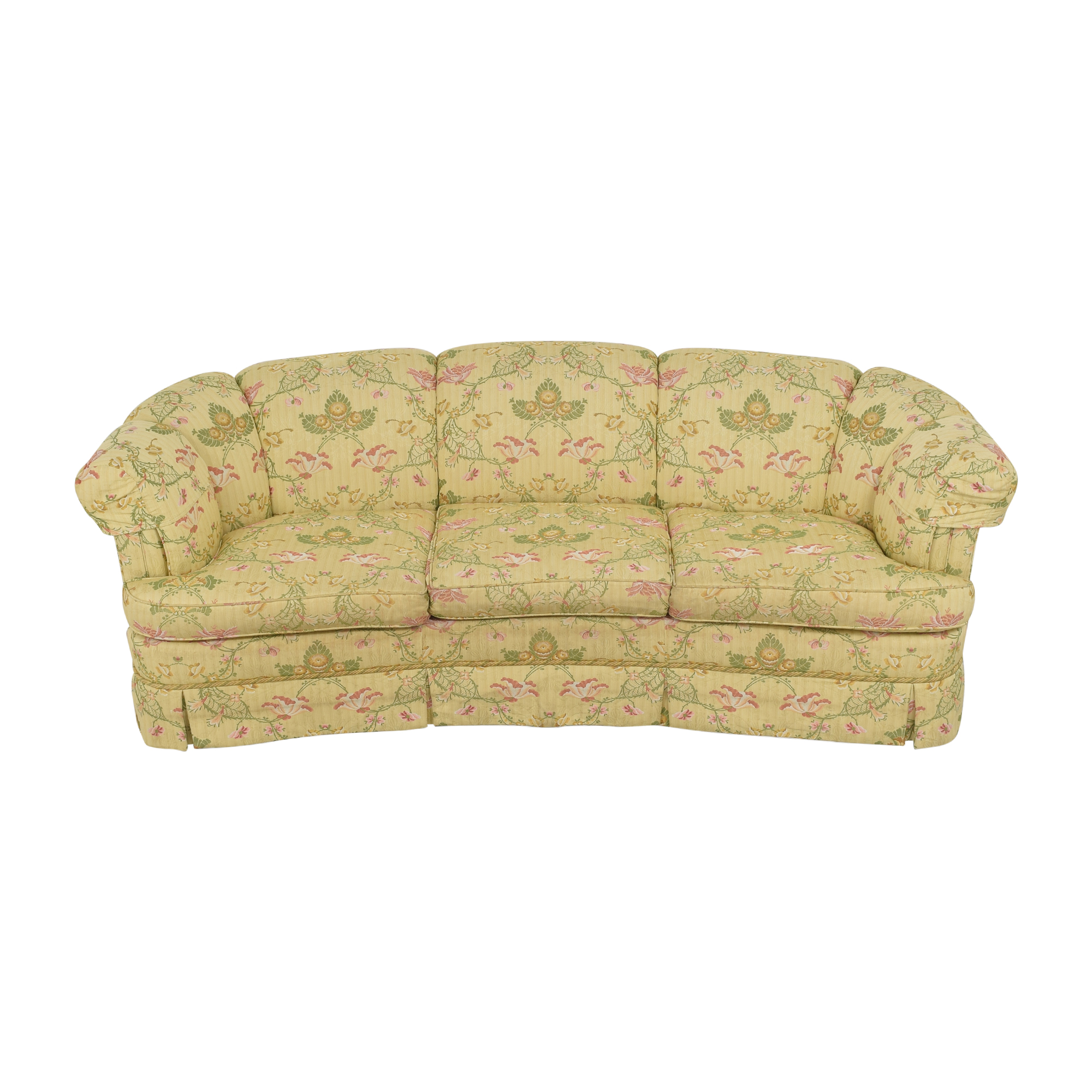 shop Kindel Floral Crescent Sofa Kindel Classic Sofas