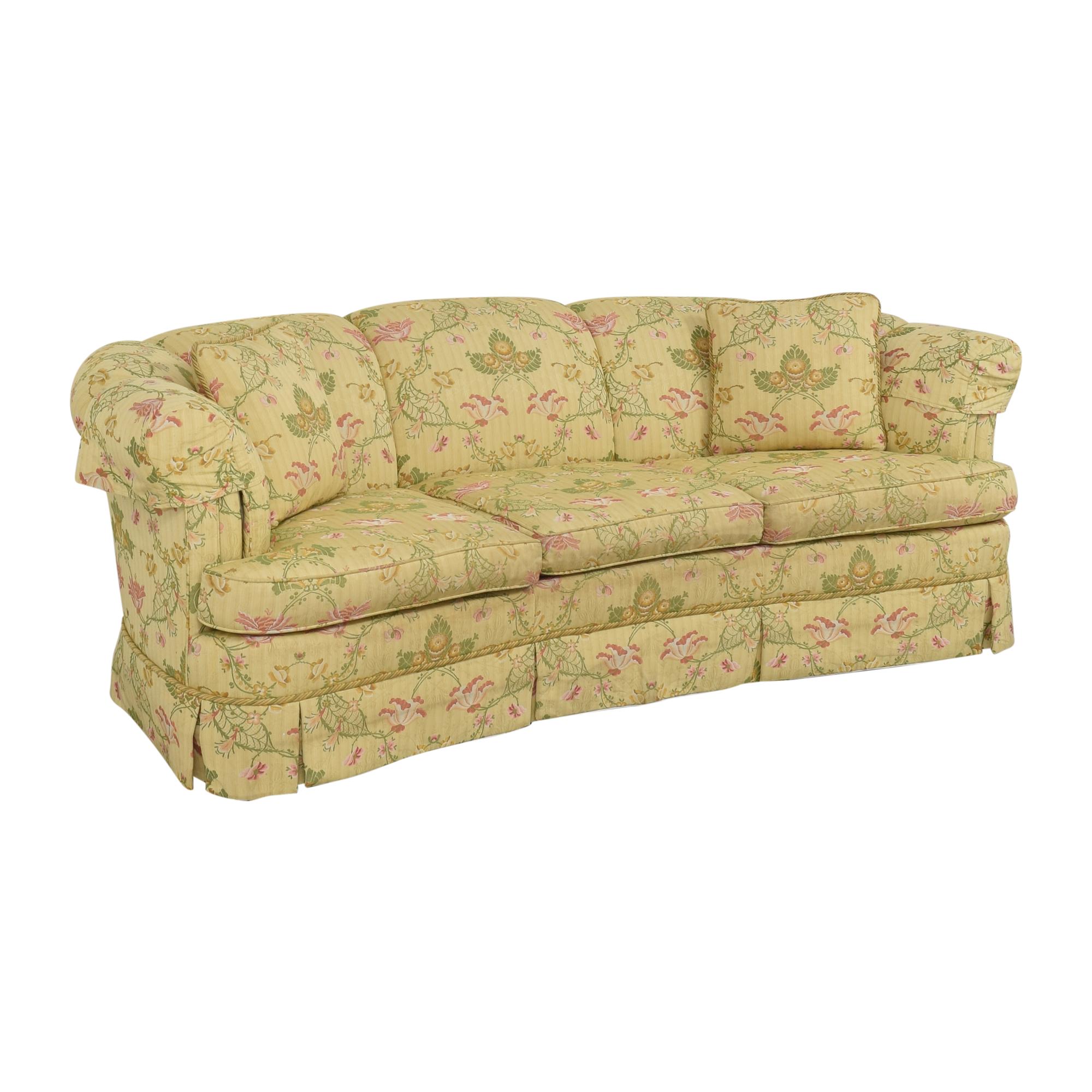 Kindel Kindel Floral Crescent Sofa ma