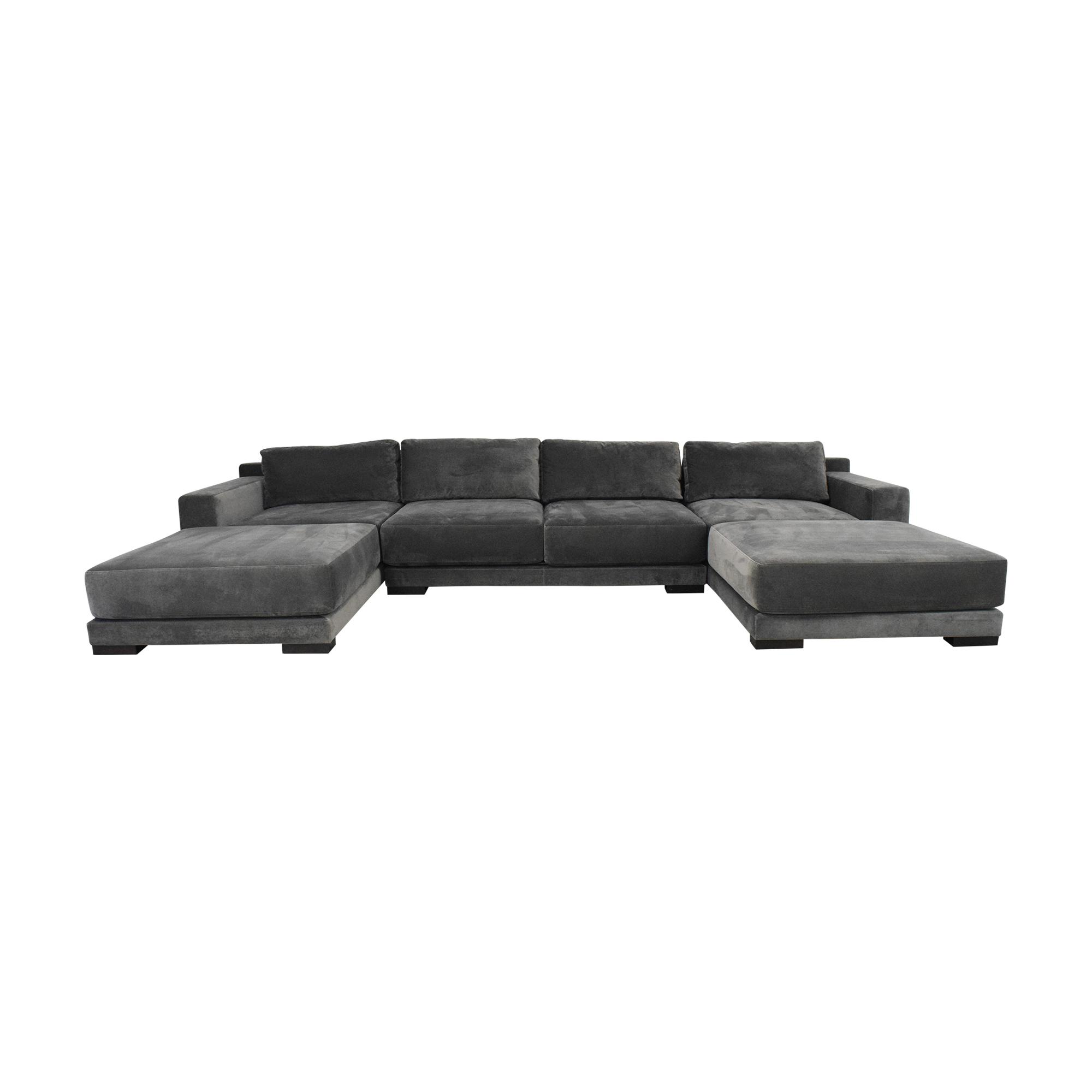 buy Room & Board Mira U Shaped Sectional Sofa Room & Board