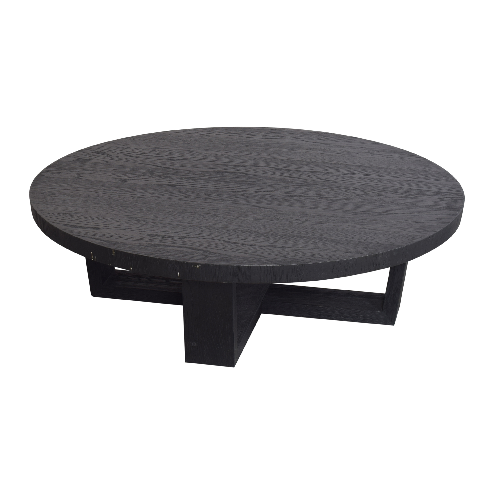 Restoration Hardware Restoration Hardware Antoccino Round Coffee Table Coffee Tables