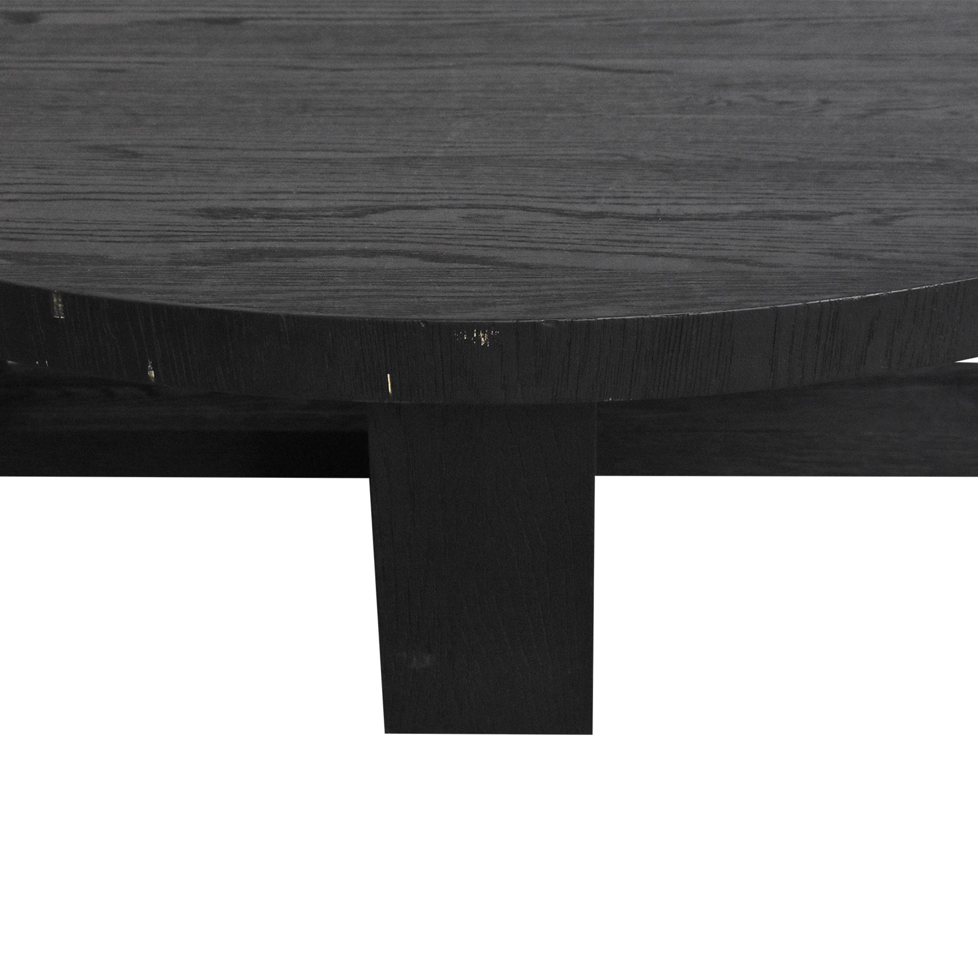 buy Restoration Hardware Antoccino Round Coffee Table Restoration Hardware