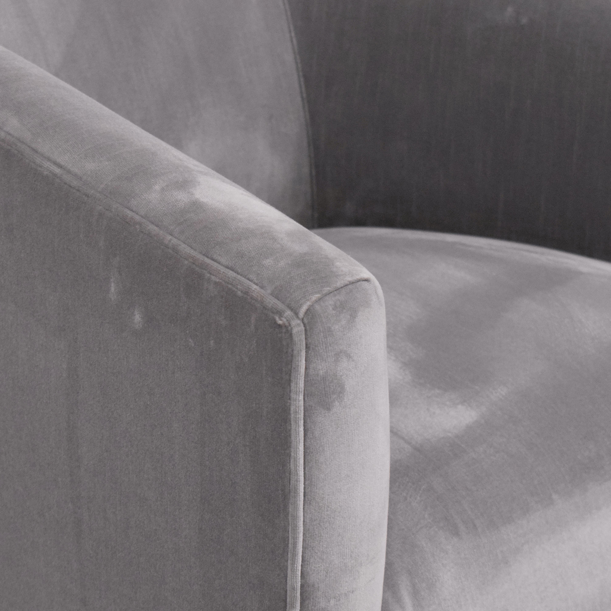 Restoration Hardware Restoration Hardware 1950s Italian Shelter Arm Swivel Chair discount
