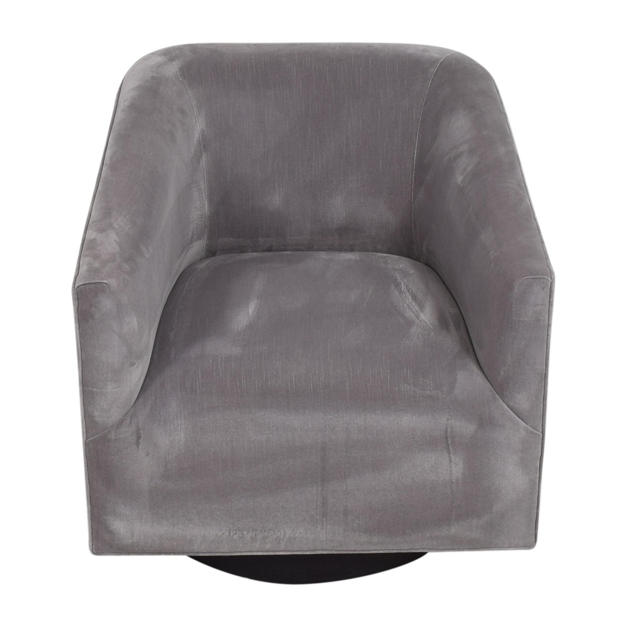 Restoration Hardware Restoration Hardware 1950s Italian Shelter Arm Swivel Chair pa