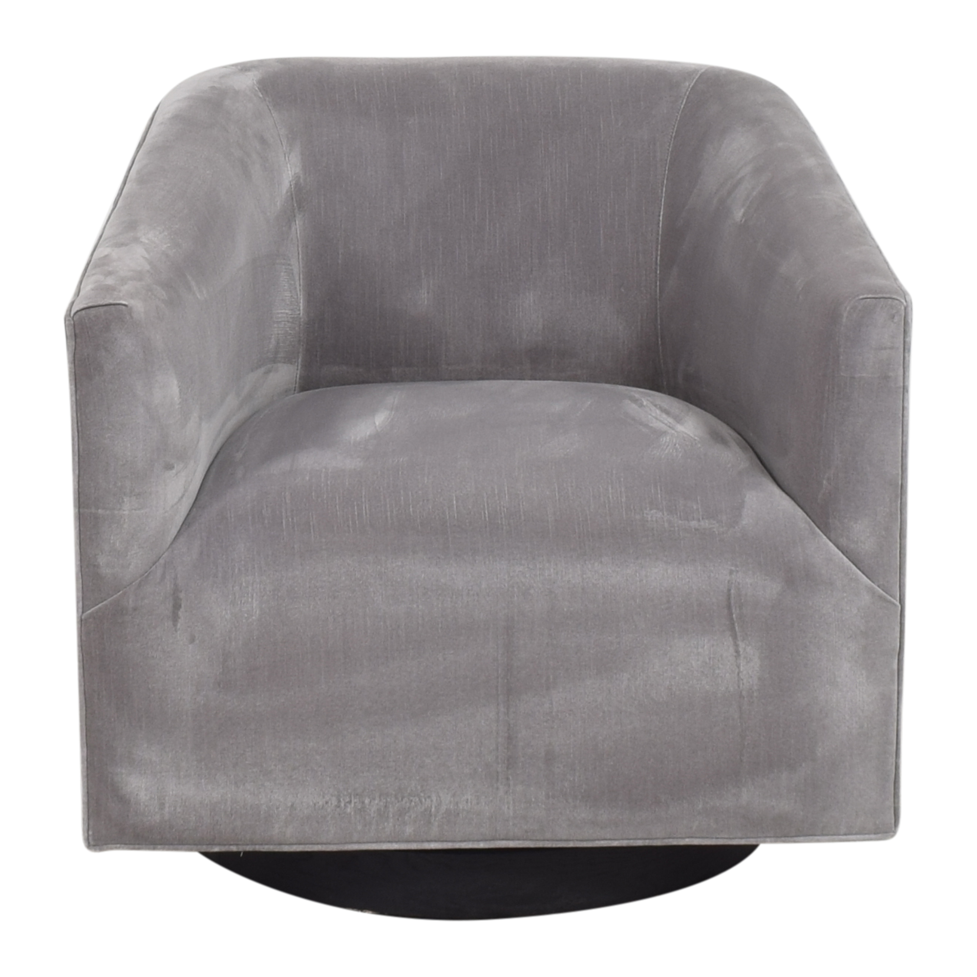 Restoration Hardware Restoration Hardware 1950s Italian Shelter Arm Swivel Chair second hand