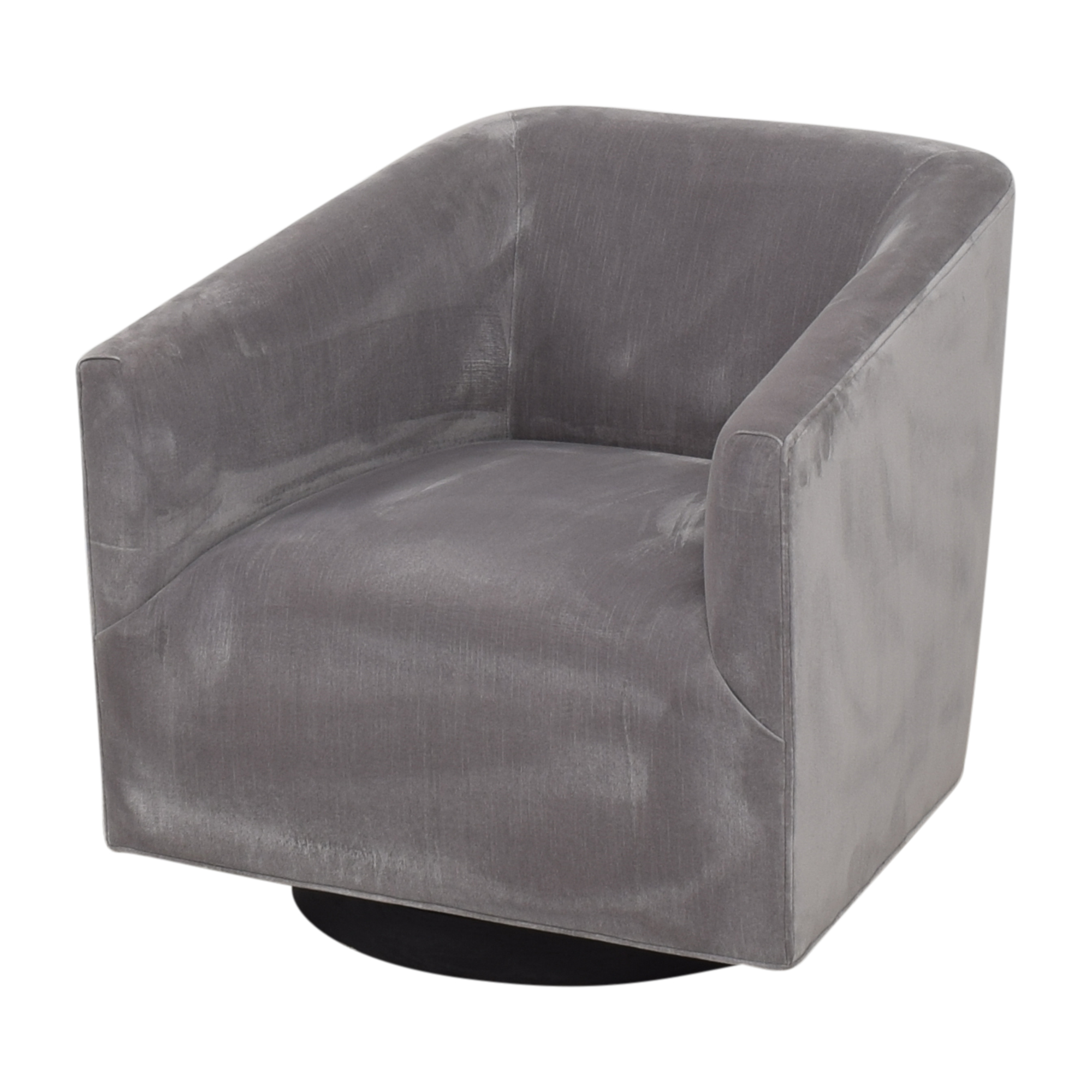 Restoration Hardware 1950s Italian Shelter Arm Swivel Chair sale